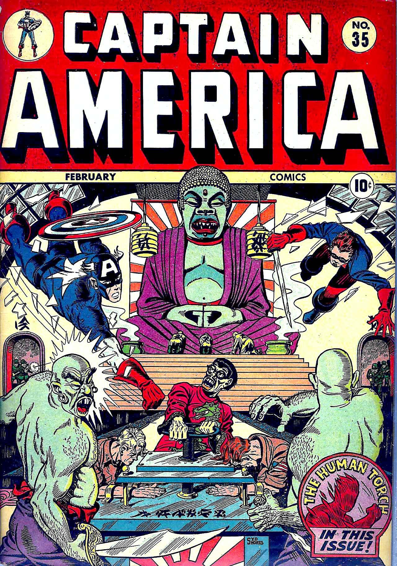 Captain America Comics 35 Page 1