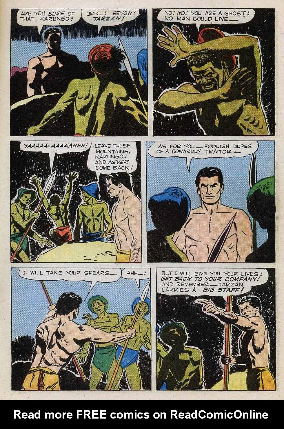 Tarzan (1948) issue 101 - Page 17