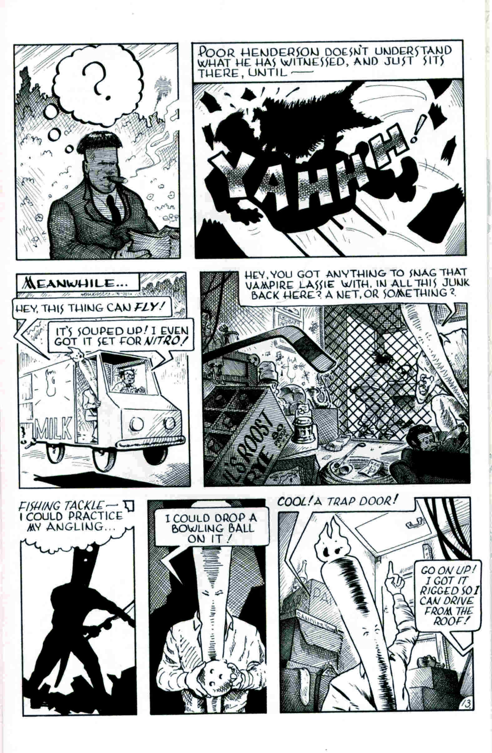 Read online Flaming Carrot & Reid Fleming, World's Toughest Milkman comic -  Issue # Full - 13