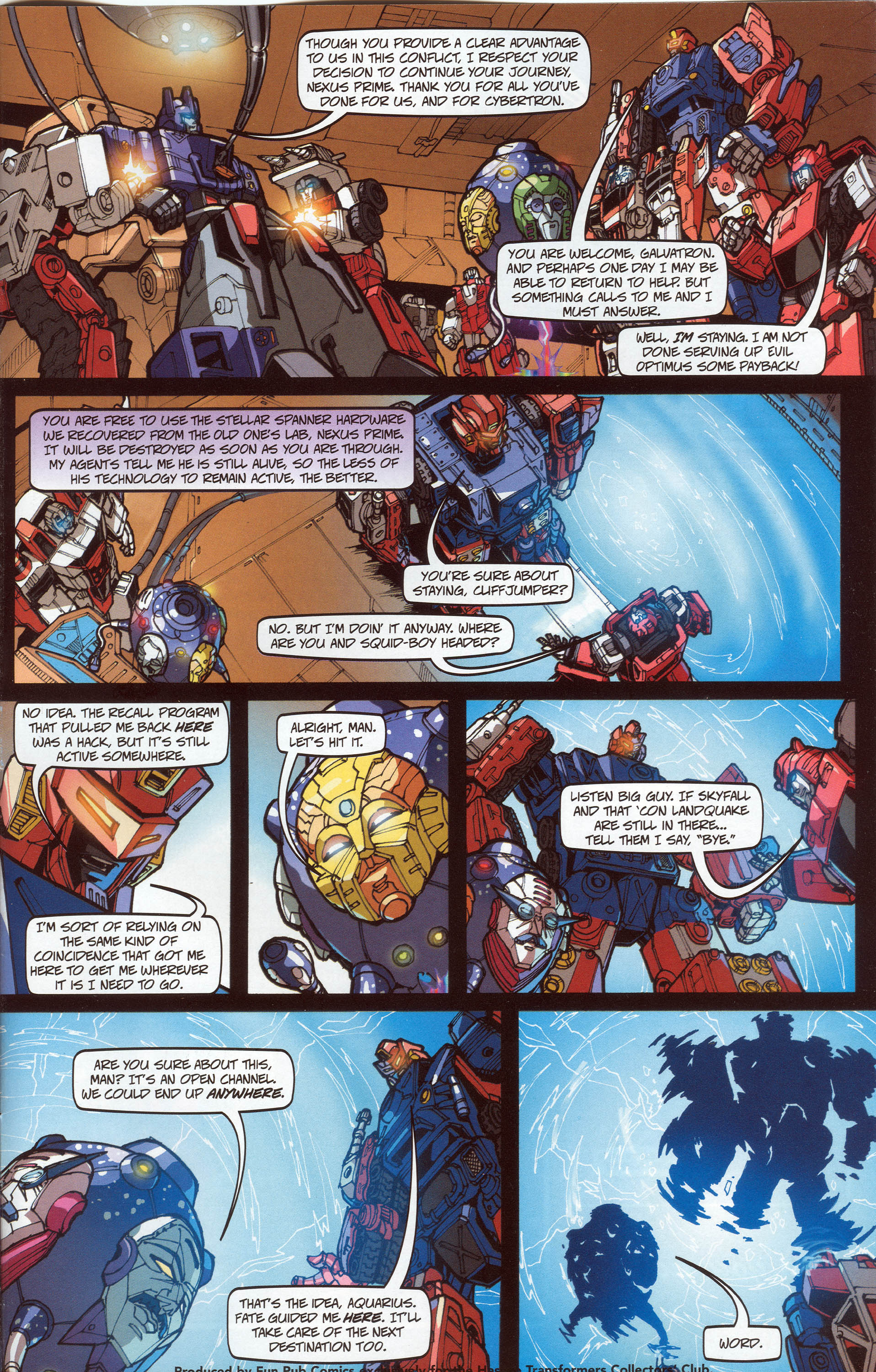 Read online Transformers: Collectors' Club comic -  Issue #30 - 15