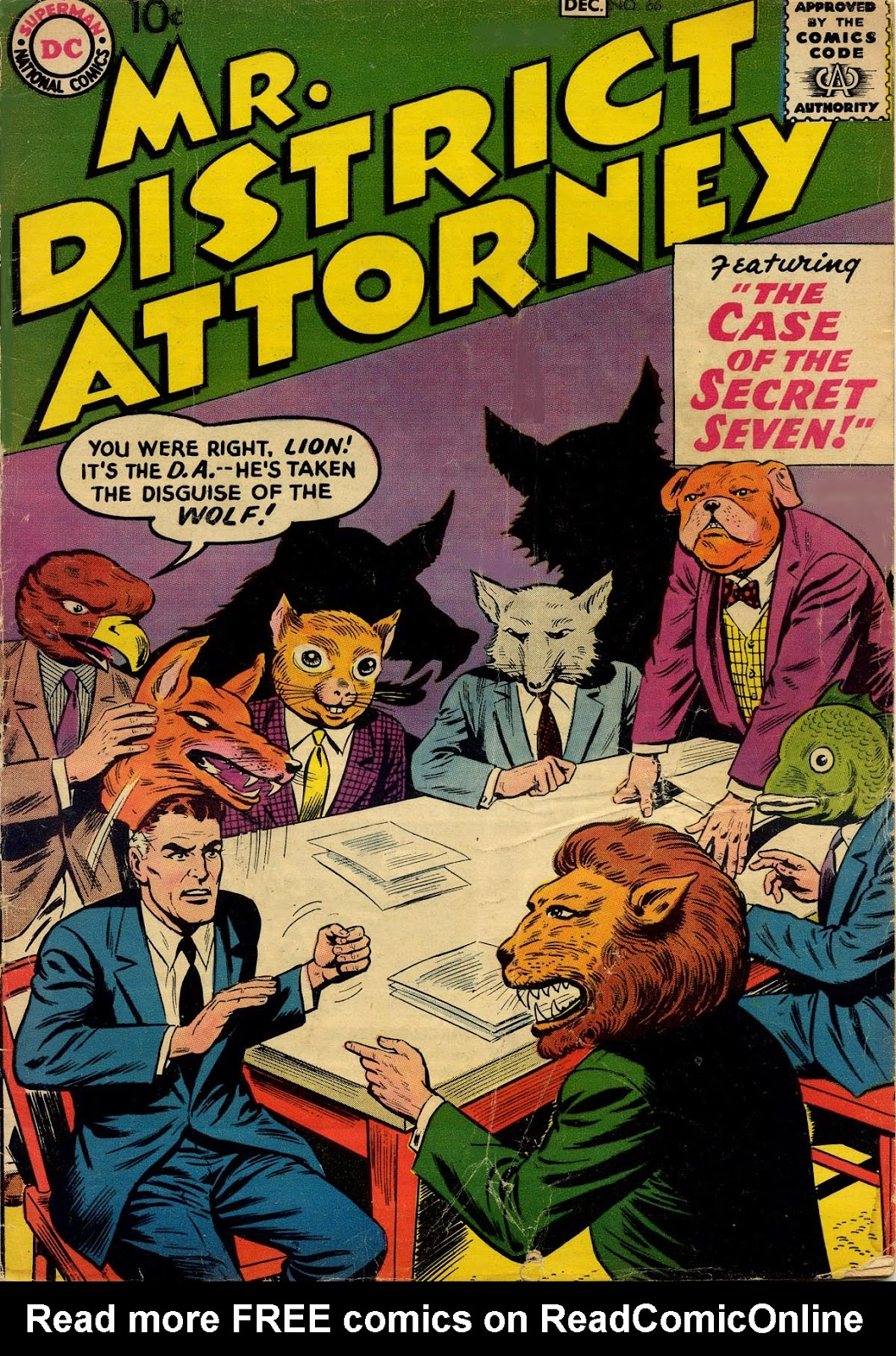Mr. District Attorney issue 66 - Page 1