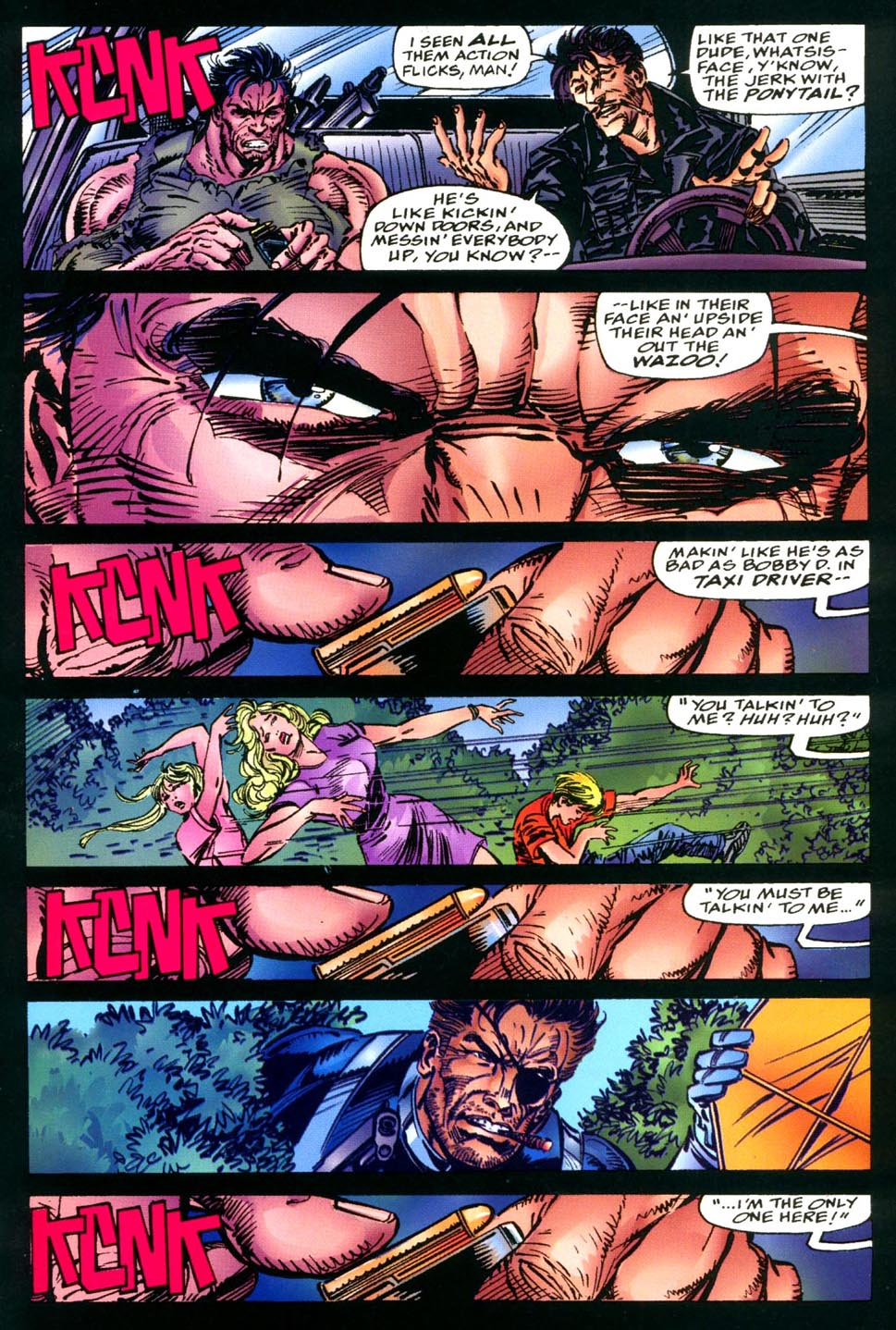 Read online Double Edge comic -  Issue # Issue Alpha - 38