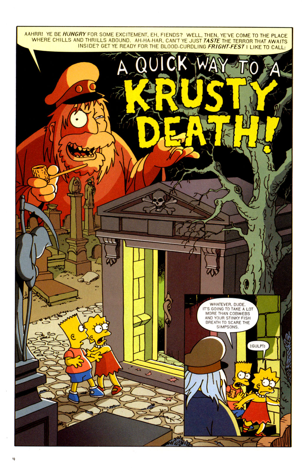 Read online Treehouse of Horror comic -  Issue #11 - 35