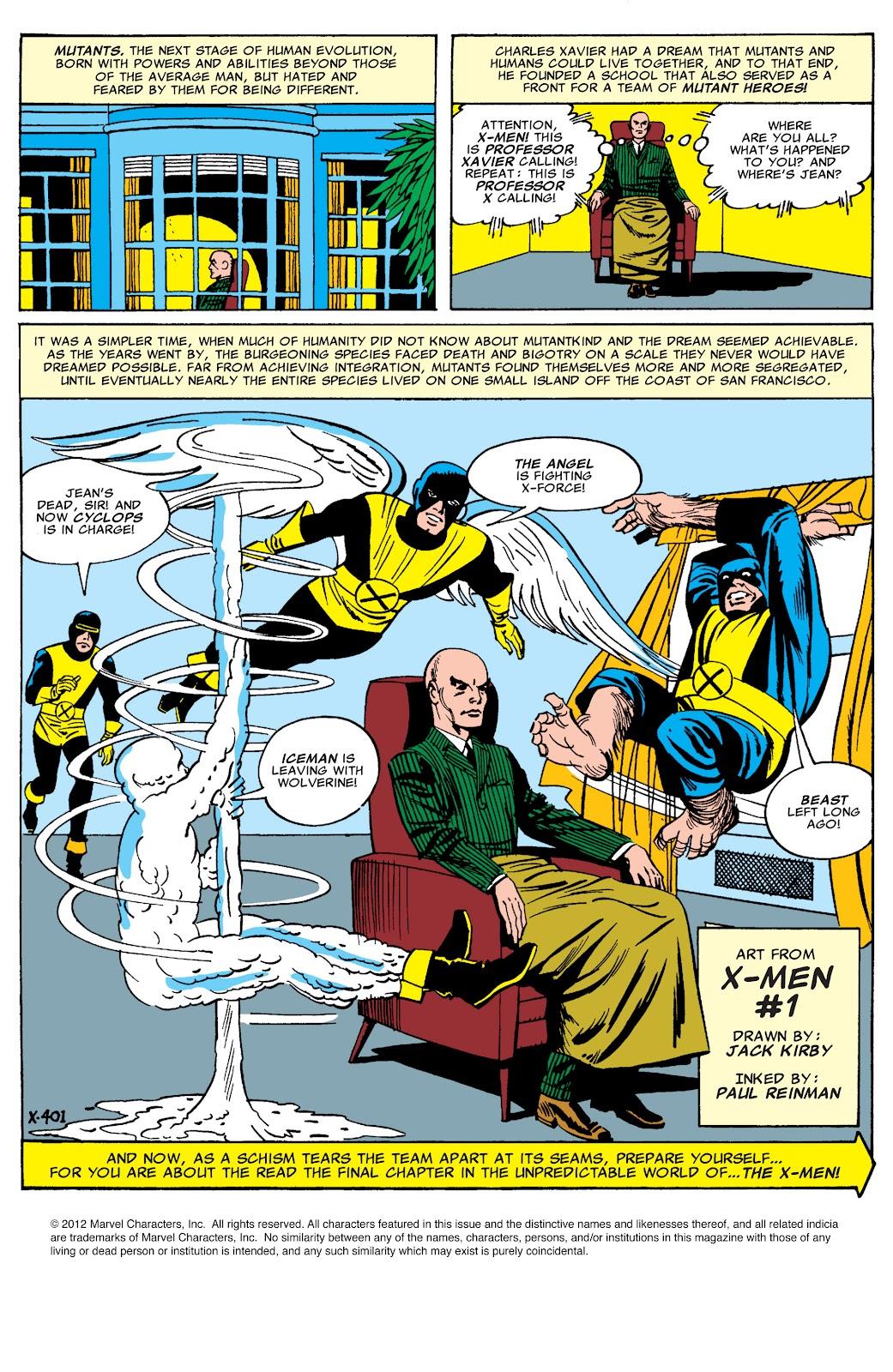 Uncanny X-Men (1963) issue 544 - Page 2