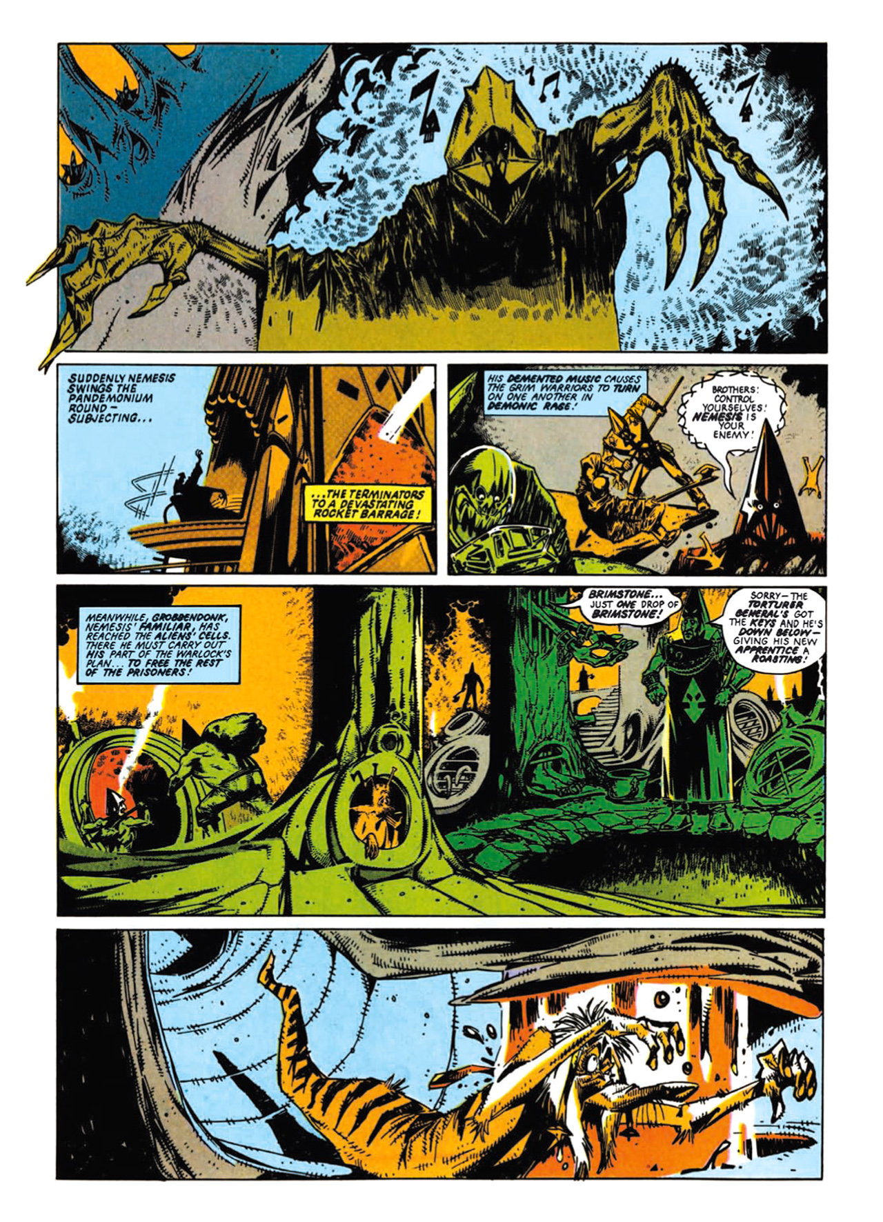 Read online Nemesis The Warlock comic -  Issue # TPB Deviant Edition - 59
