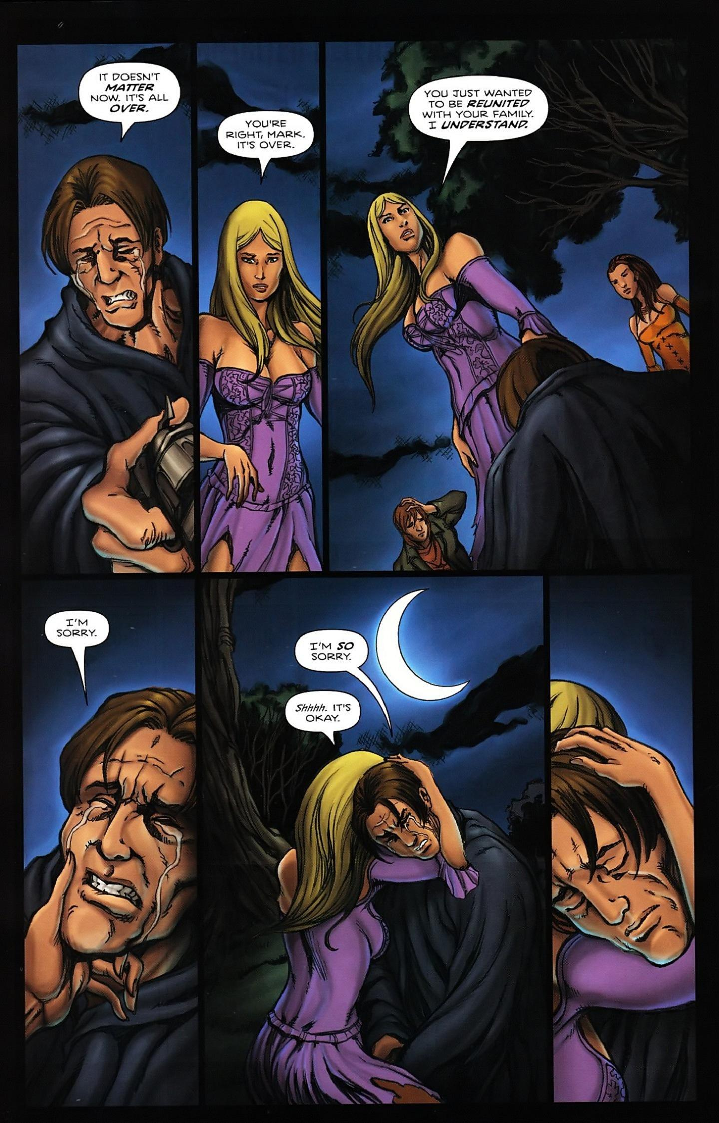 Read online Salem's Daughter: The Haunting comic -  Issue #5 - 26