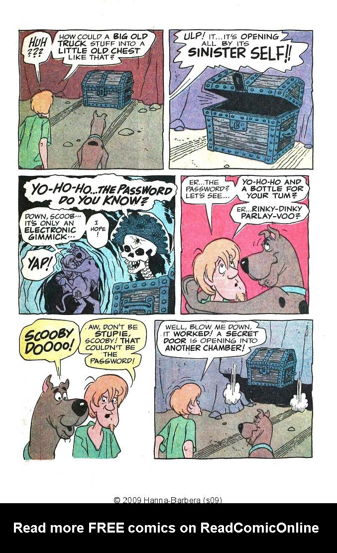 Read online Scooby-Doo... Where Are You! (1970) comic -  Issue #6 - 25