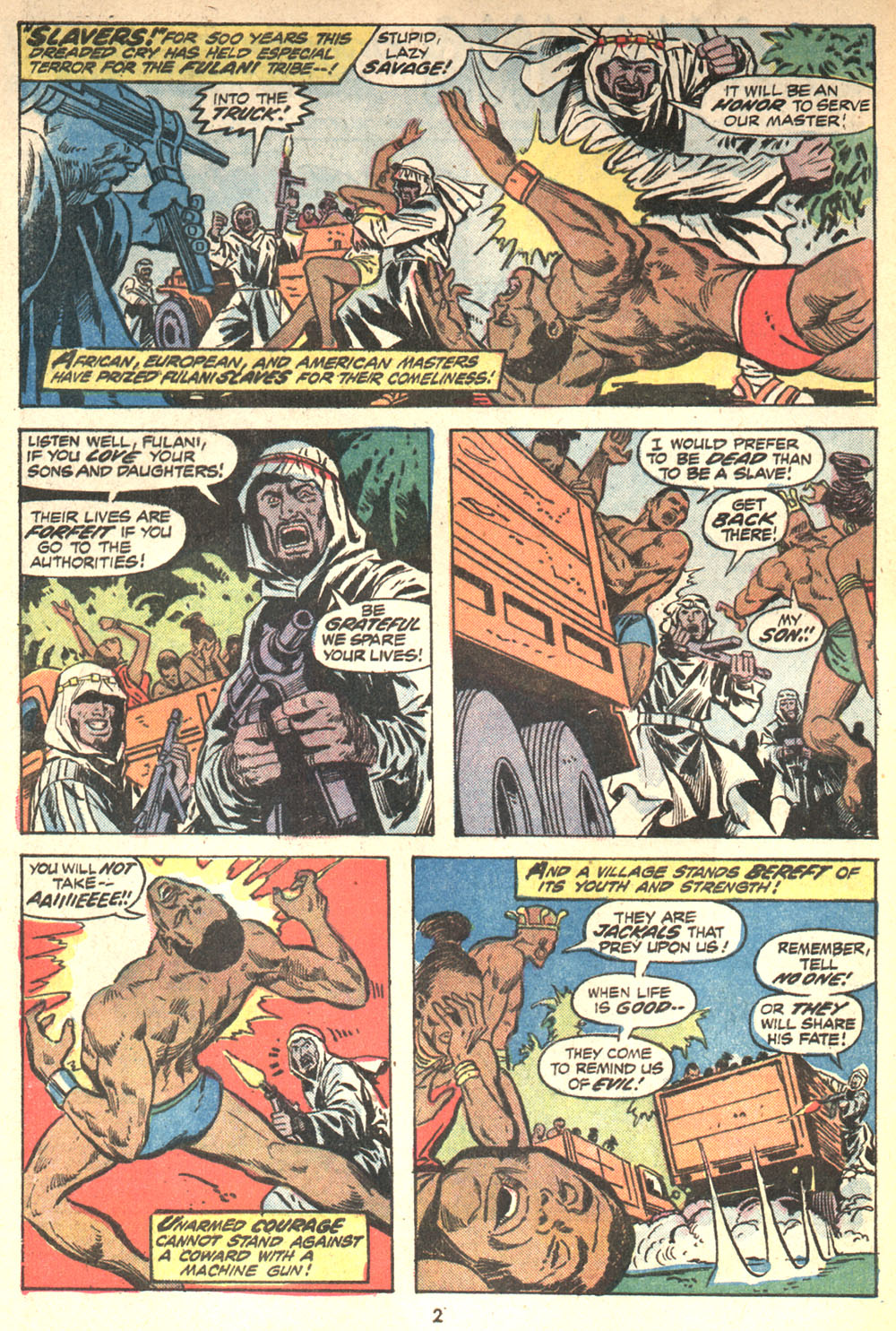Read online Shanna, the She-Devil (1972) comic -  Issue #2 - 3