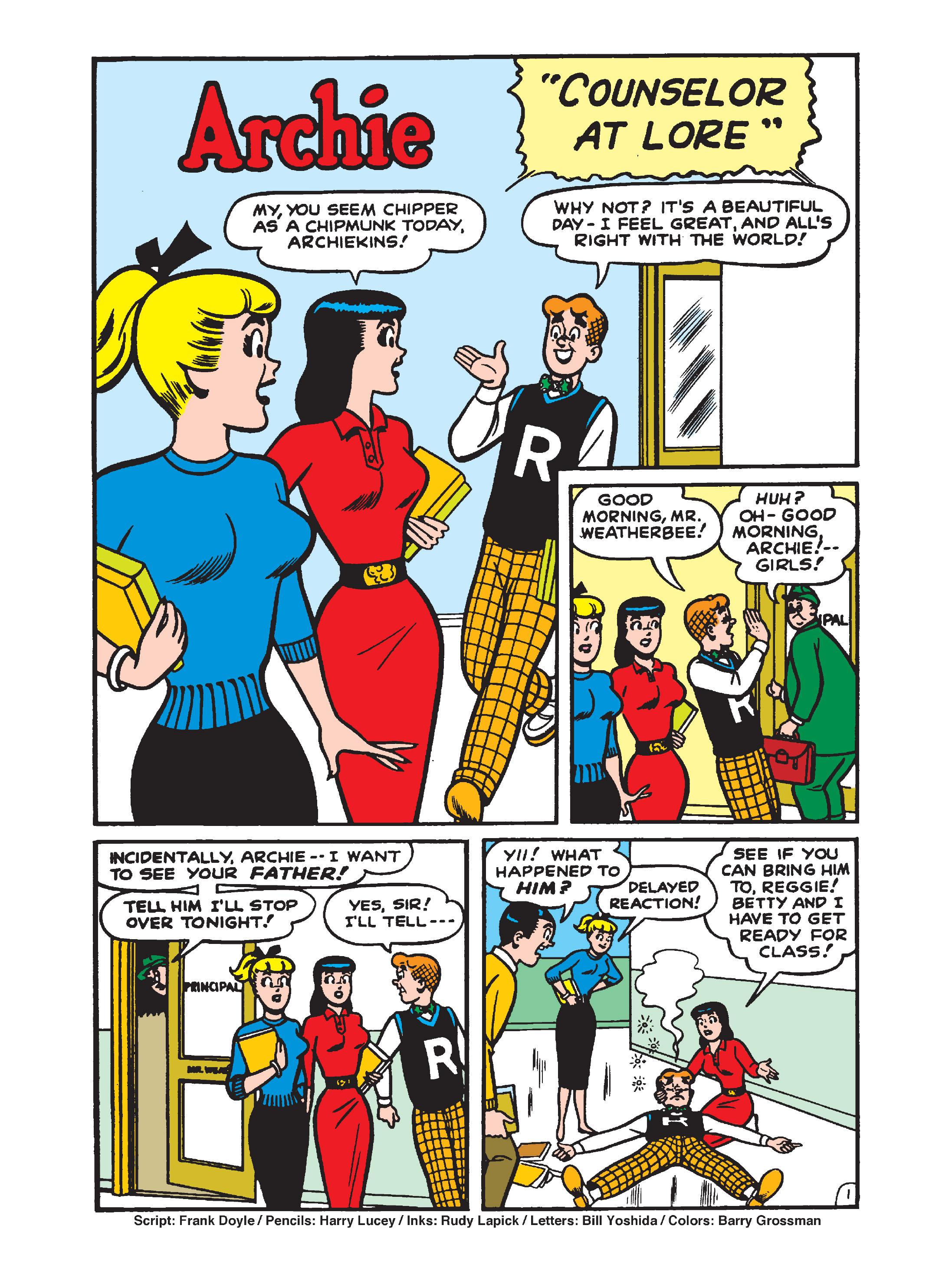 Read online Archie 1000 Page Comics Bonanza comic -  Issue #1 (Part 1) - 122
