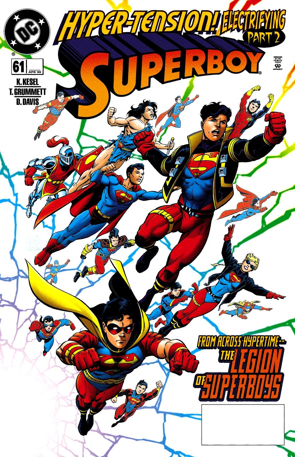Superboy (1994) 61 Page 1
