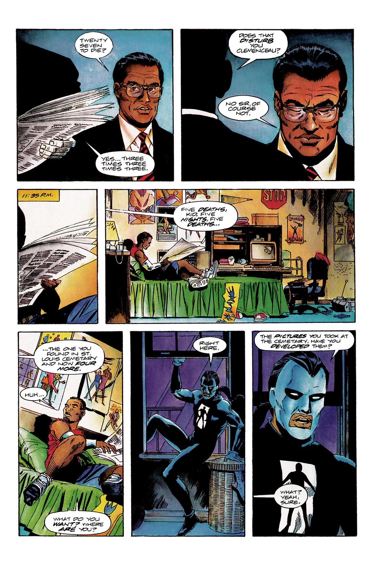 Read online Shadowman (1992) comic -  Issue #8 - 5