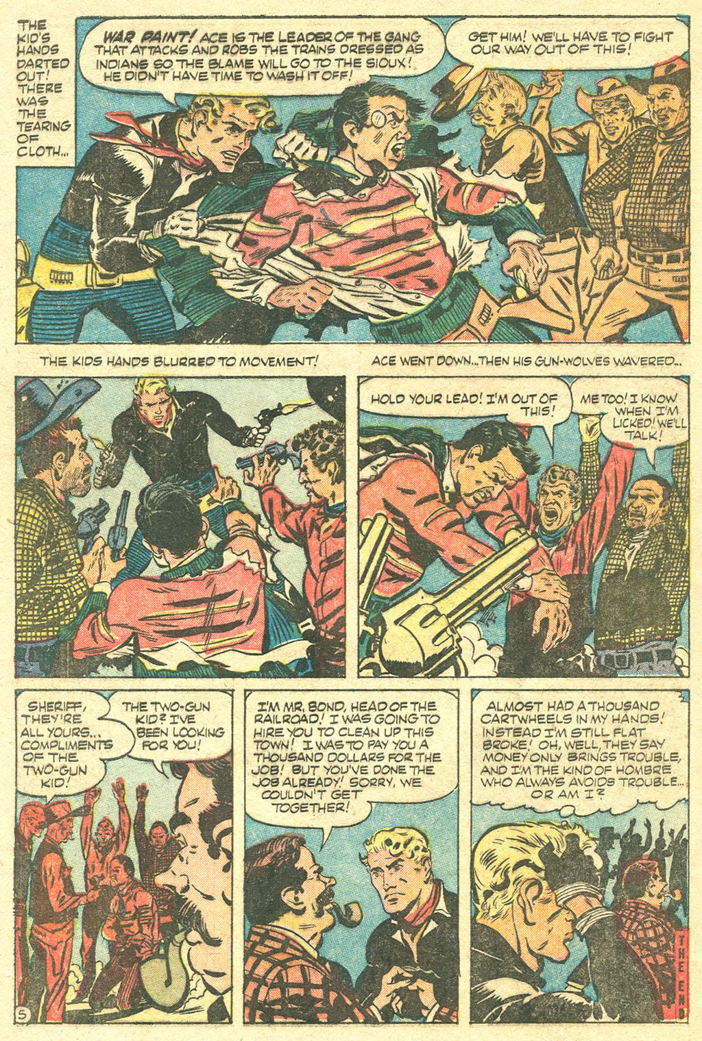 Read online Two-Gun Kid comic -  Issue #32 - 32