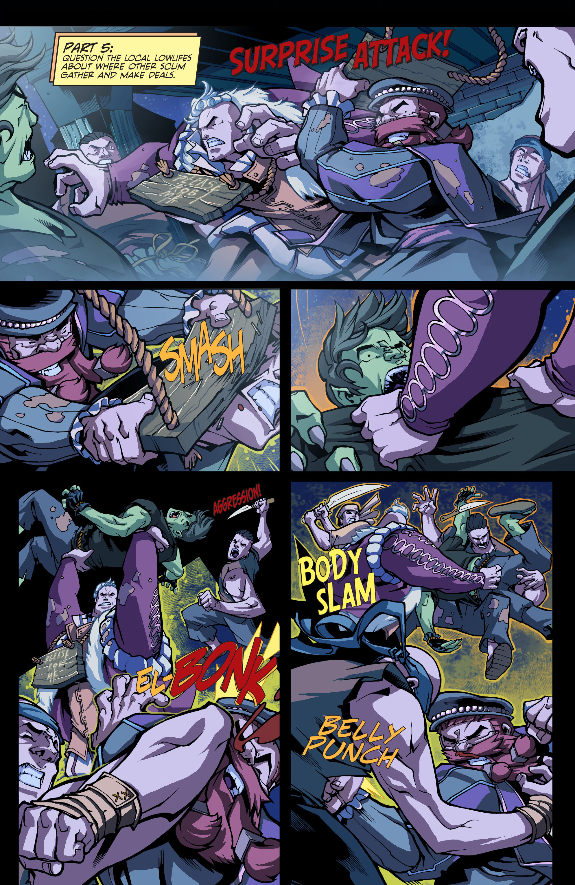 Read online Skullkickers comic -  Issue #8 - 14