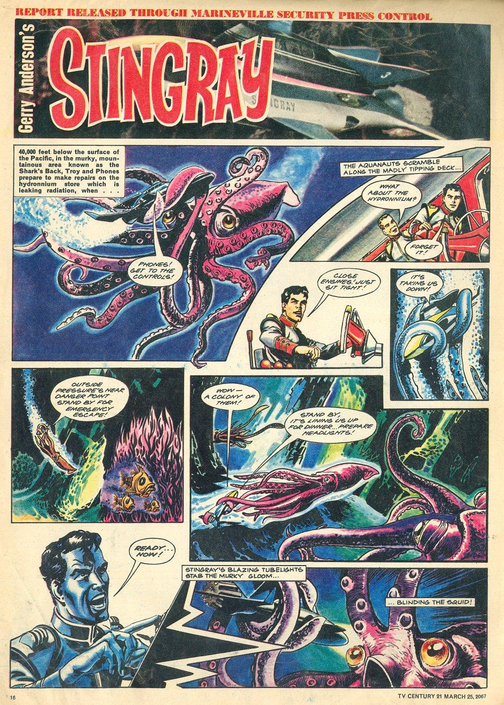 Read online TV Century 21 (TV 21) comic -  Issue #114 - 15