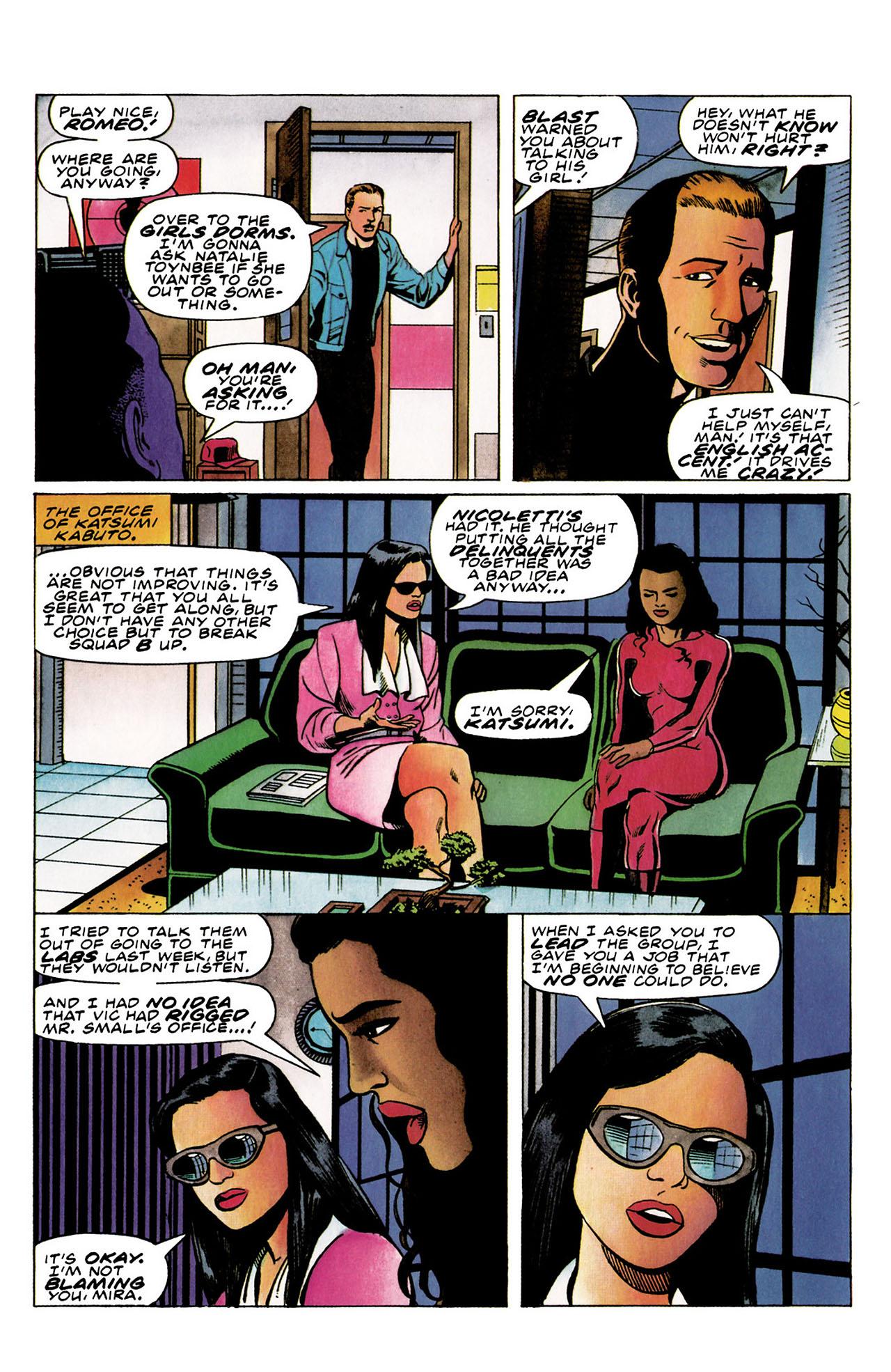 Read online Harbinger (1992) comic -  Issue #30 - 11