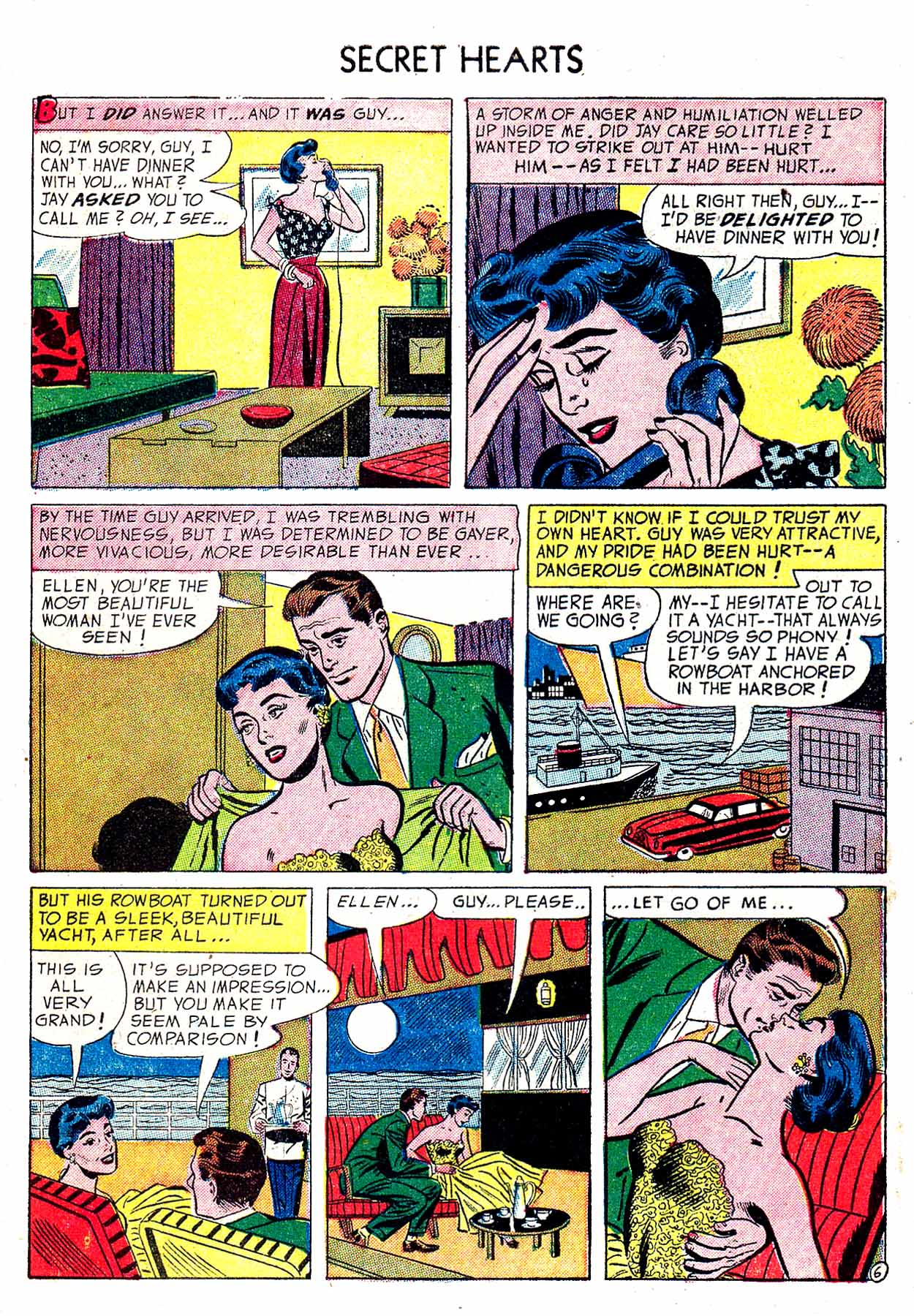 Read online Secret Hearts comic -  Issue #19 - 8