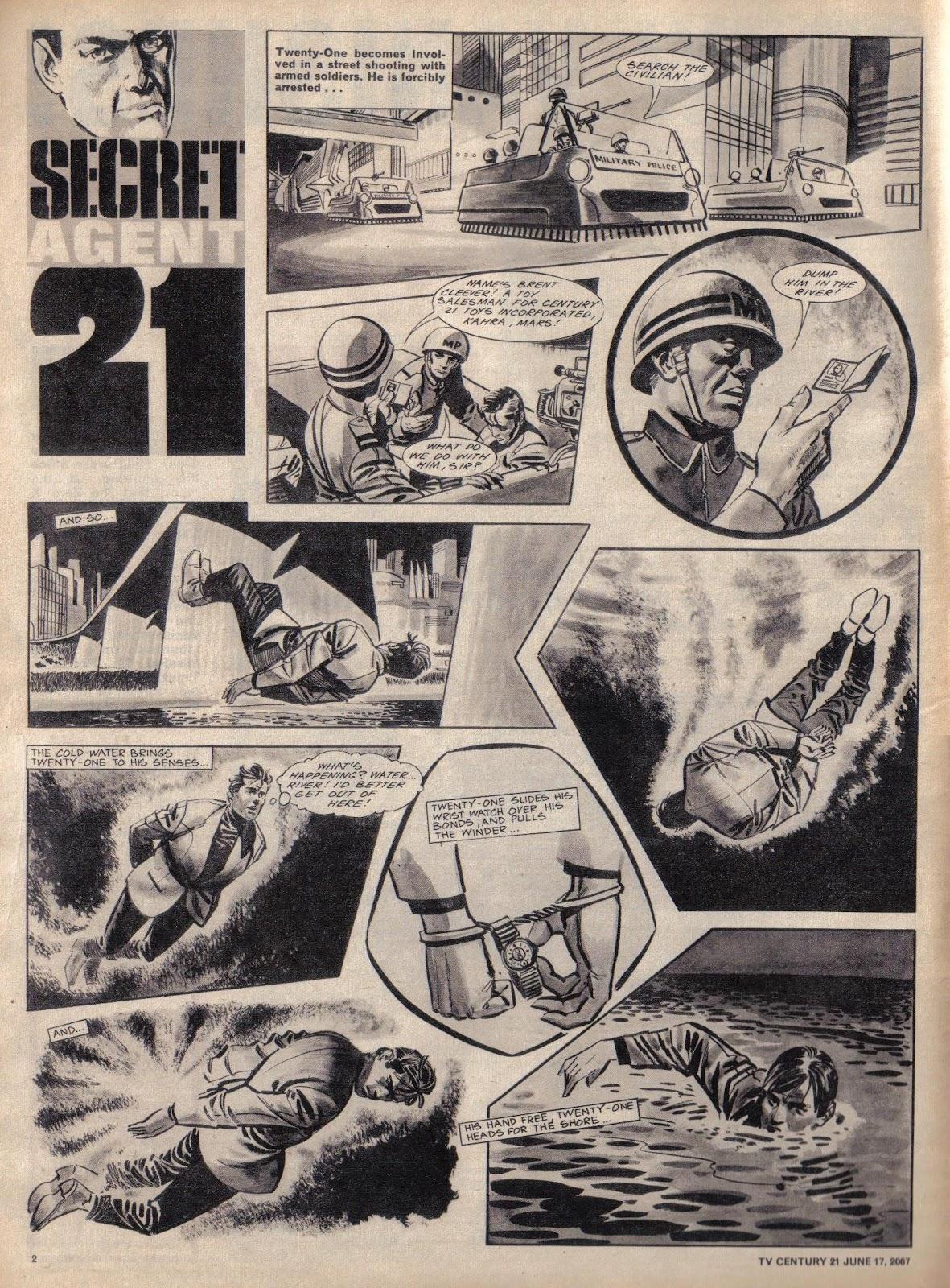 TV Century 21 (TV 21) 126 Page 2