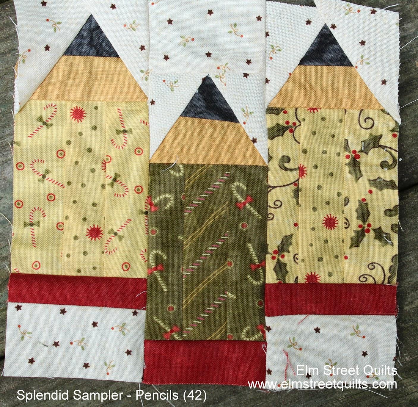 Splendid Sampler block 42