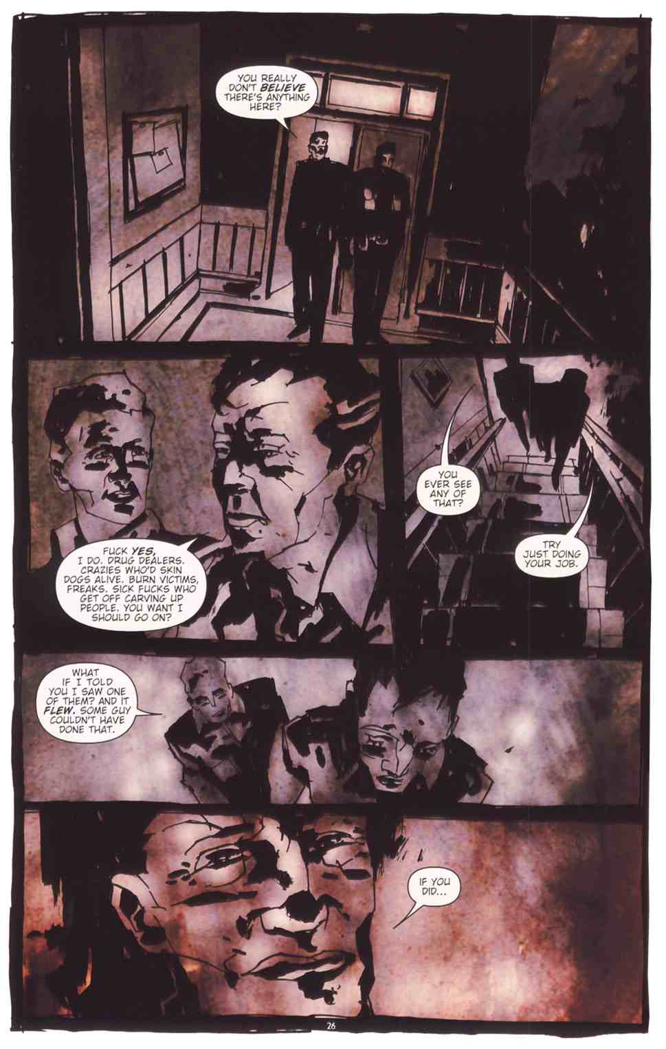 Read online Silent Hill: The Grinning Man comic -  Issue # Full - 28