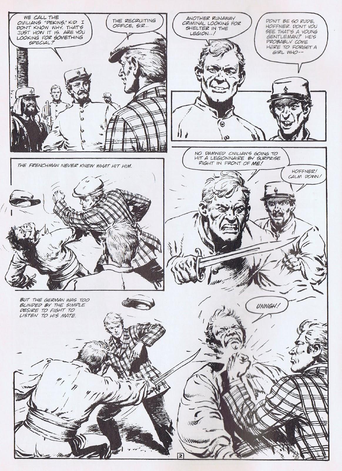 Read online Merchants of Death comic -  Issue #3 - 4