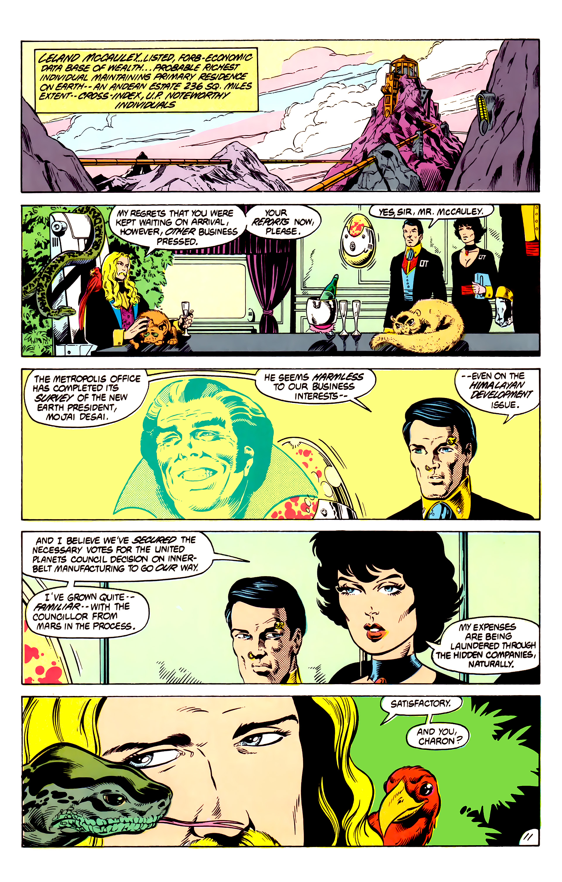Legion of Super-Heroes (1984) 13 Page 12