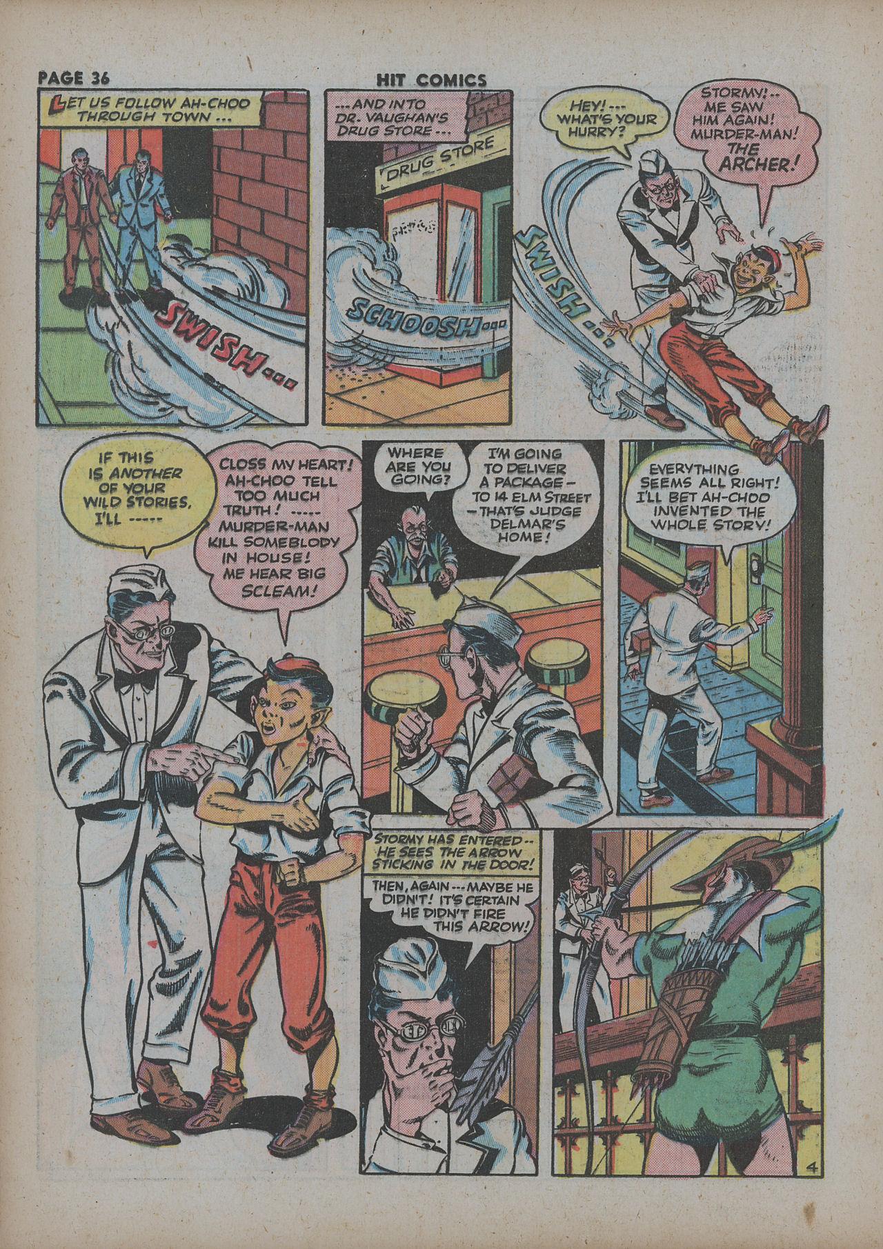 Read online Hit Comics comic -  Issue #27 - 38