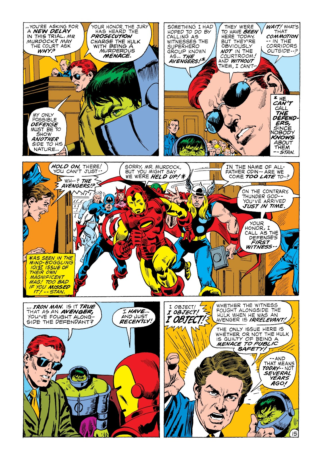 Read online Marvel Masterworks: The Incredible Hulk comic -  Issue # TPB 8 (Part 3) - 11
