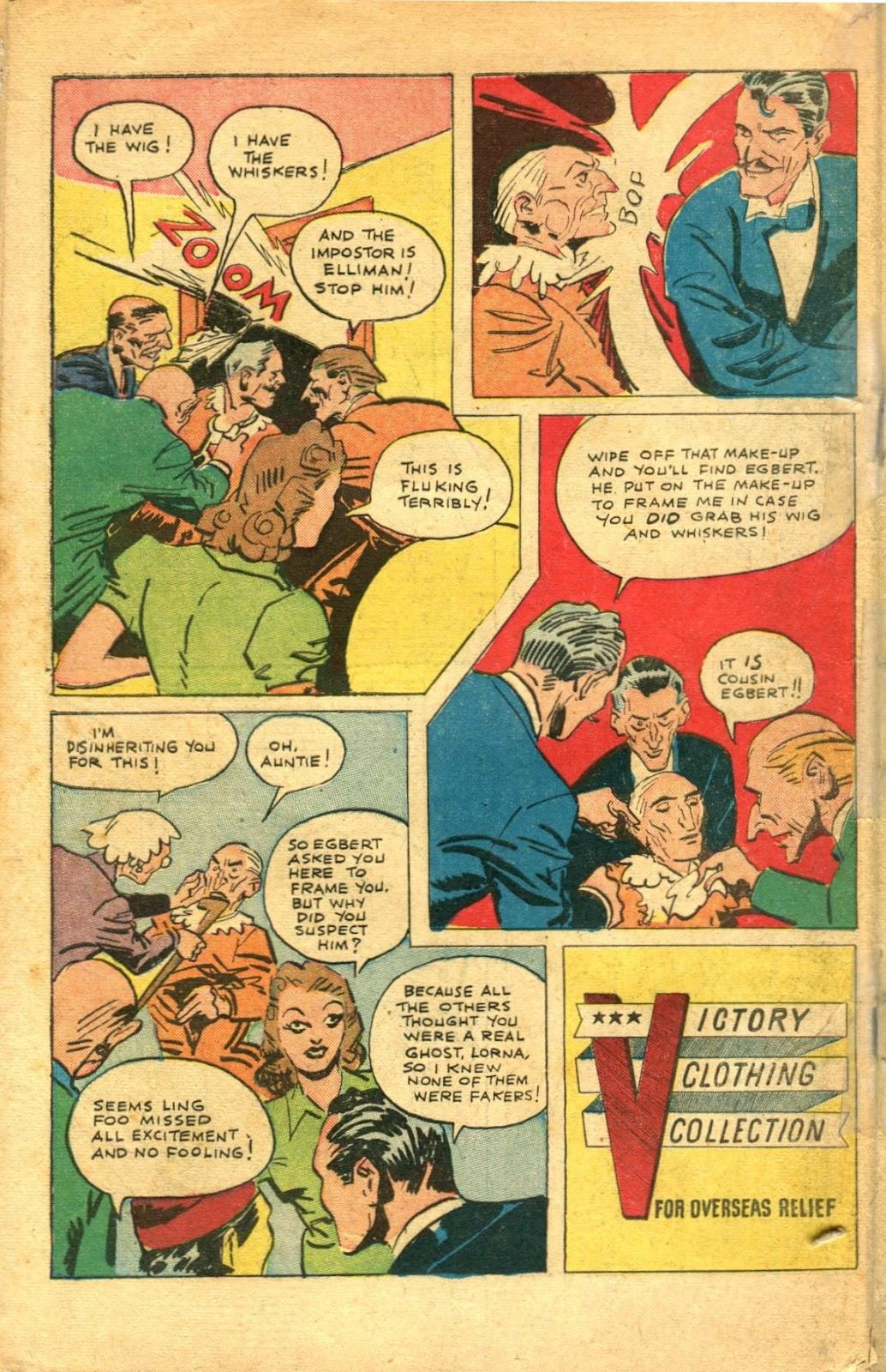 Read online Super-Magician Comics comic -  Issue #48 - 50