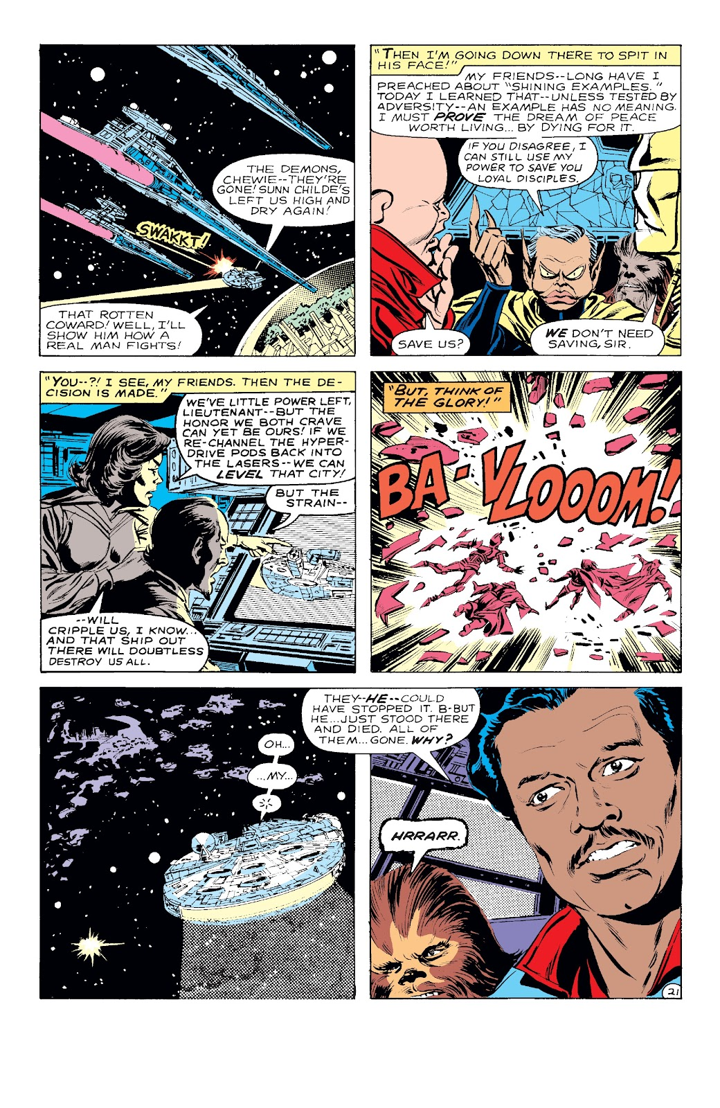Read online Star Wars Legends: The Original Marvel Years - Epic Collection comic -  Issue # TPB 3 (Part 2) - 57