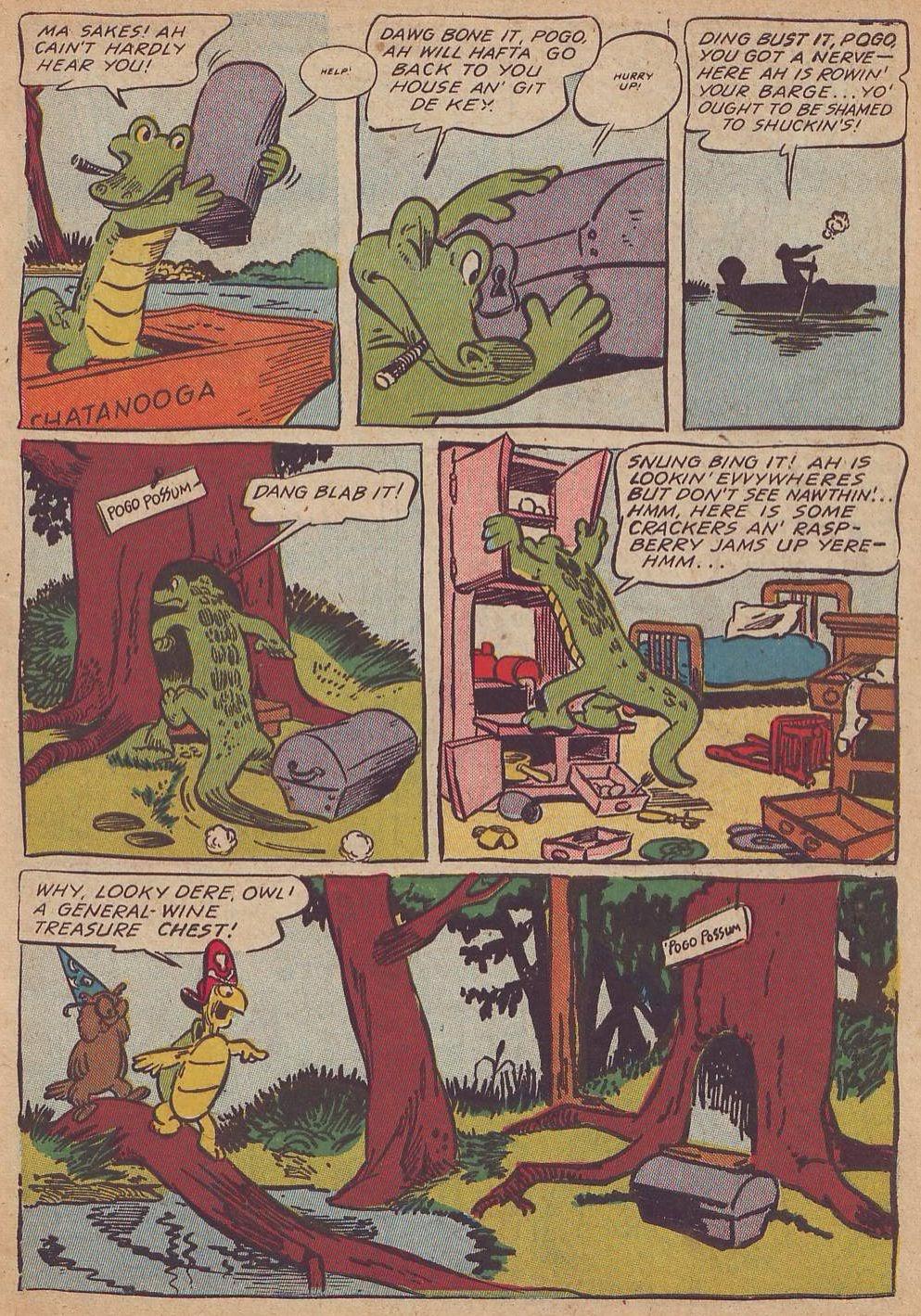 Read online Animal Comics comic -  Issue #23 - 5