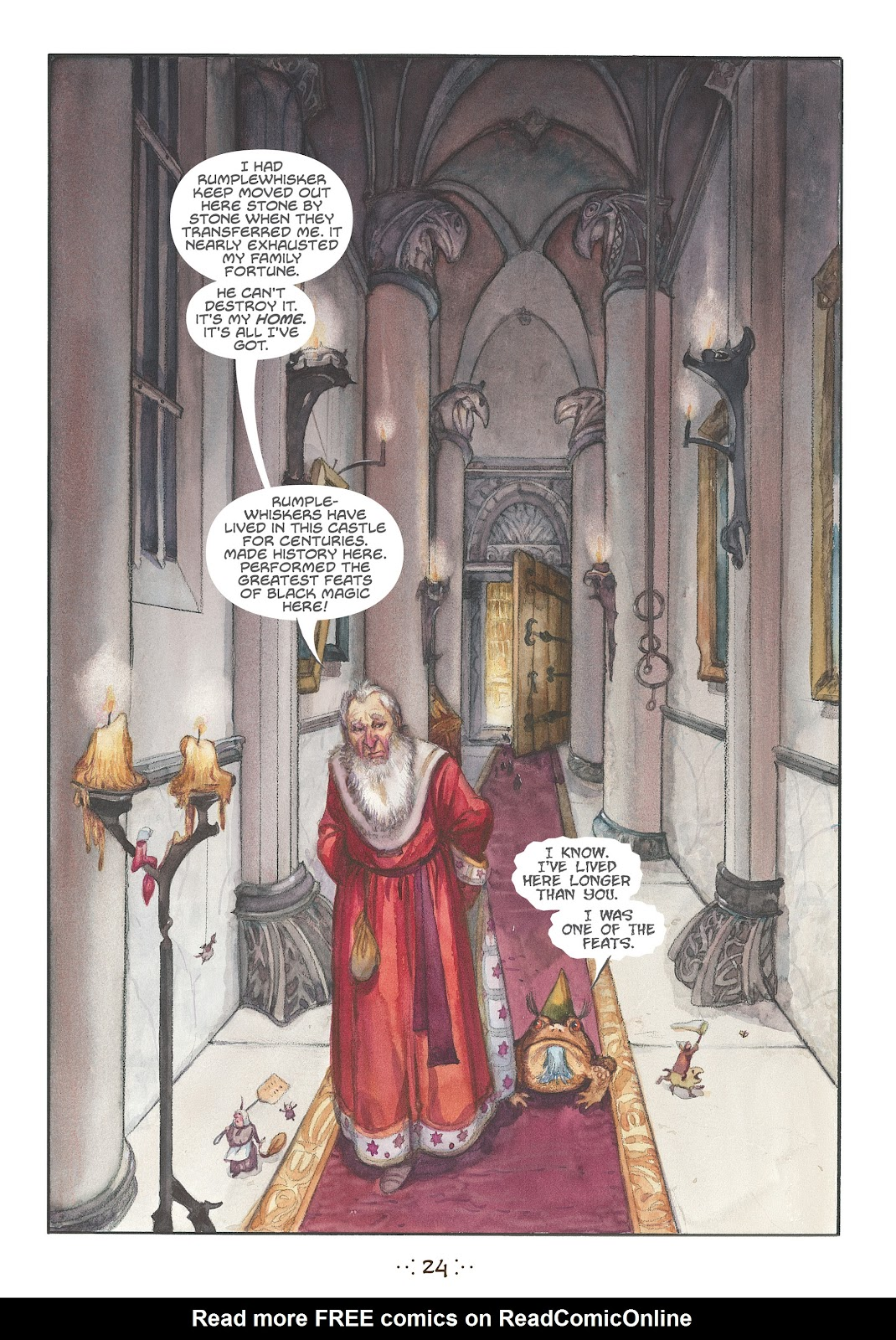 Read online The Wizard's Tale comic -  Issue # TPB - 22