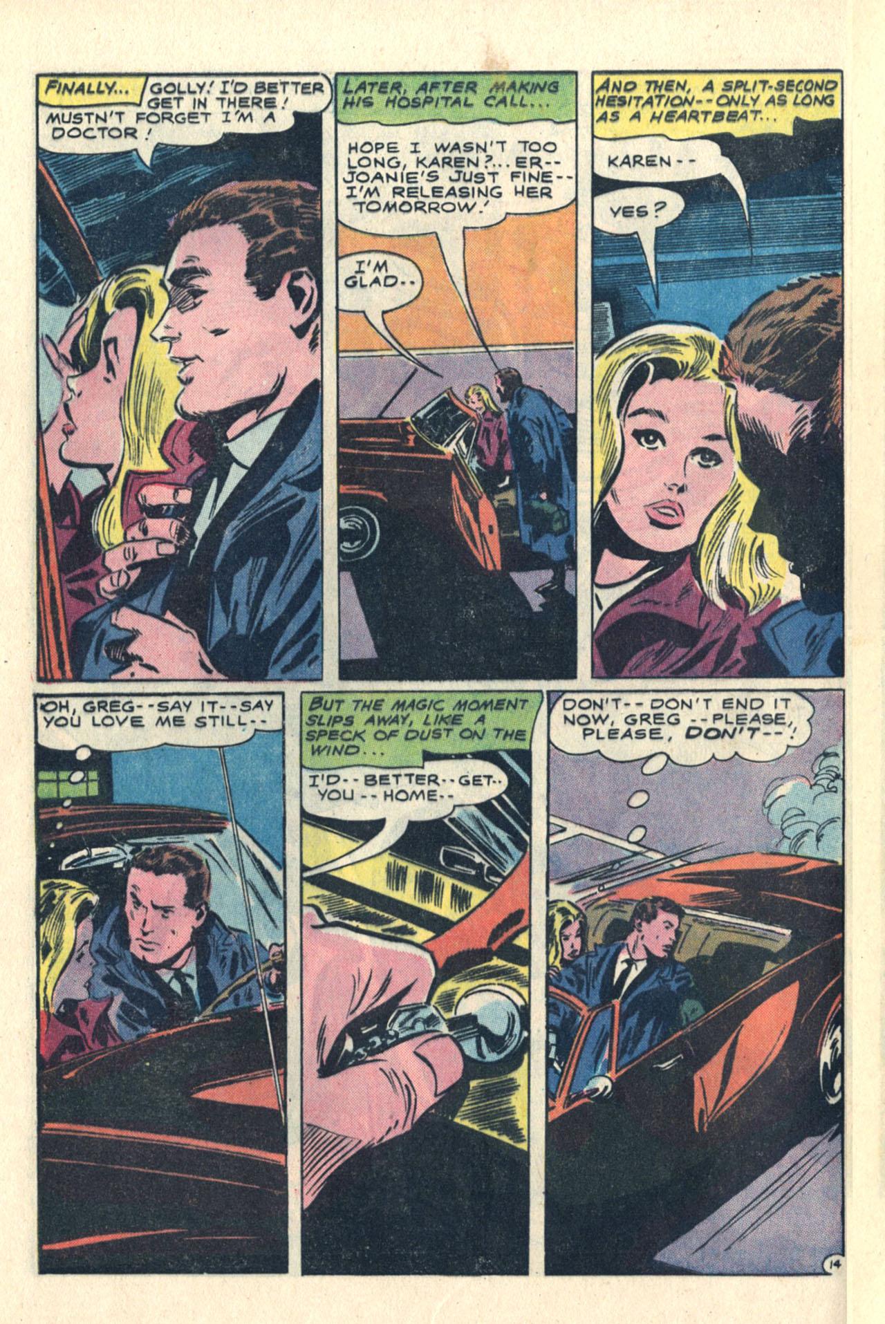 Read online Secret Hearts comic -  Issue #113 - 32