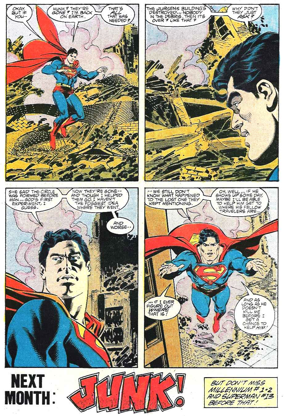 Read online Adventures of Superman (1987) comic -  Issue #435 - 23