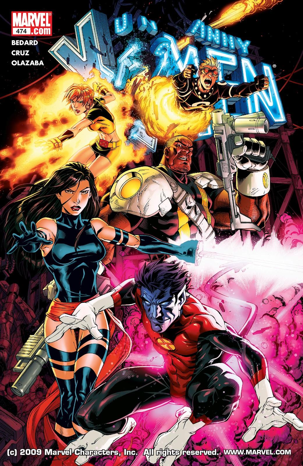 Uncanny X-Men (1963) 474 Page 1