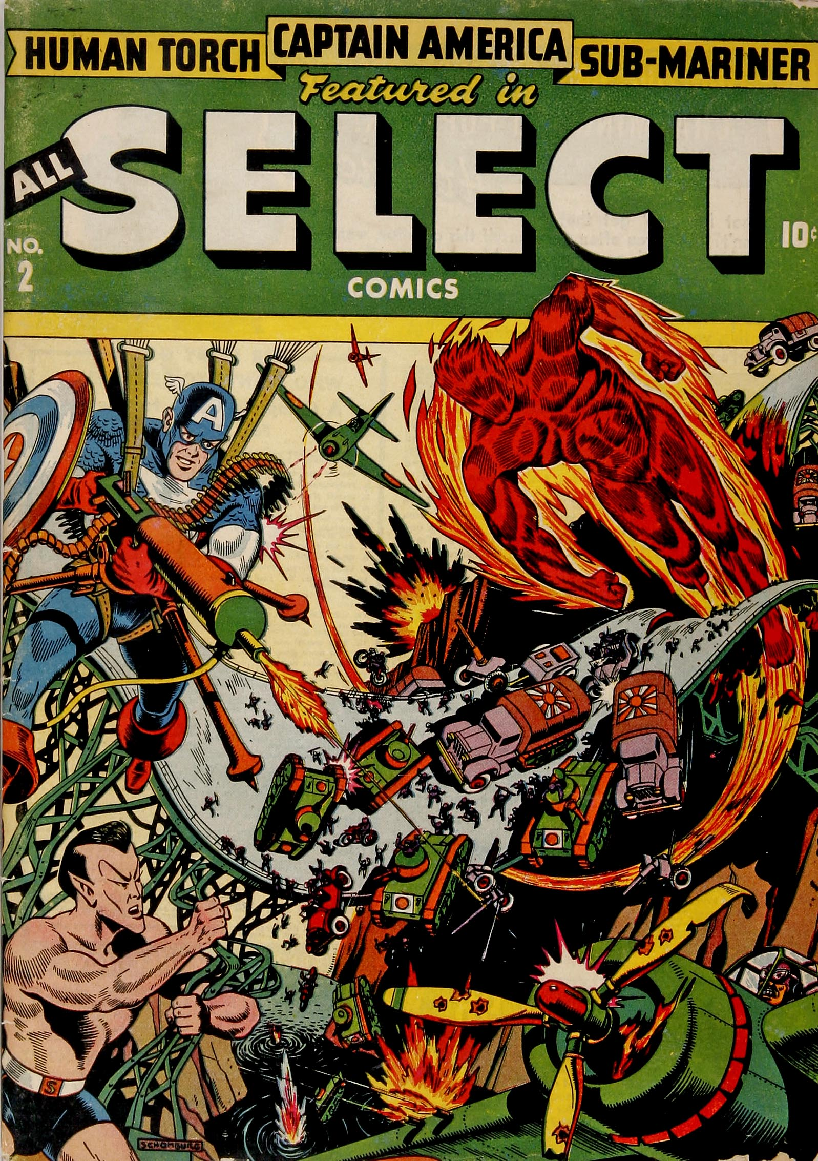 Read online All-Select Comics comic -  Issue #2 - 1