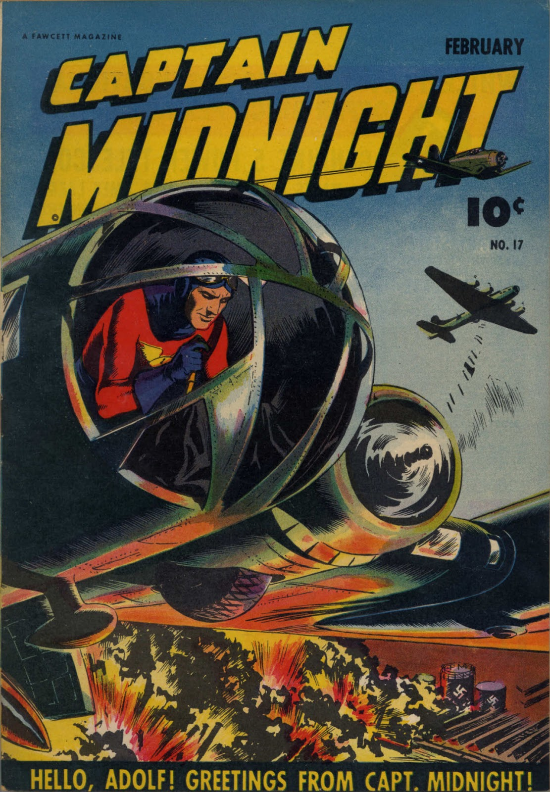 Captain Midnight (1942) issue 17 - Page 1
