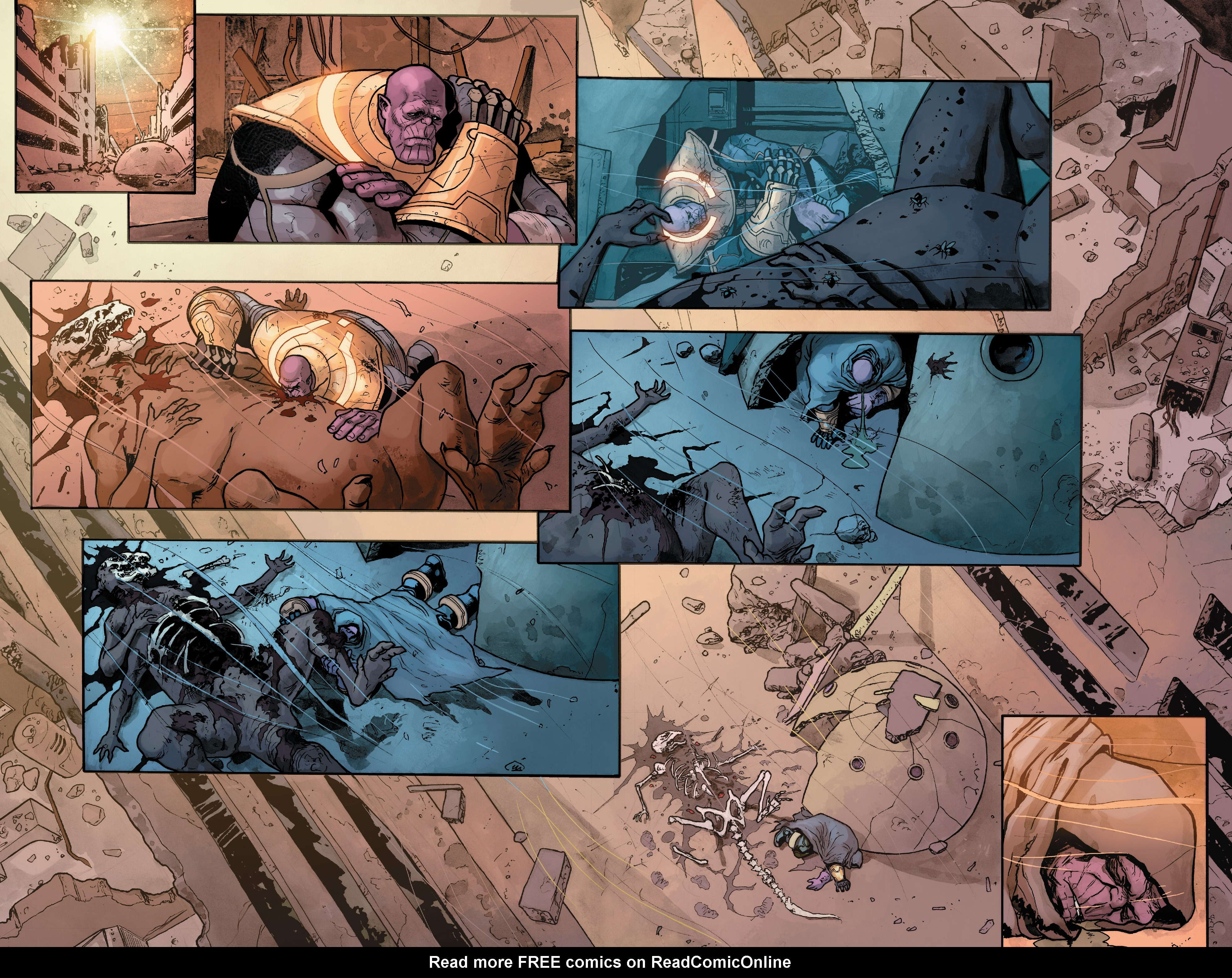 Read online Thanos (2016) comic -  Issue #7 - 11