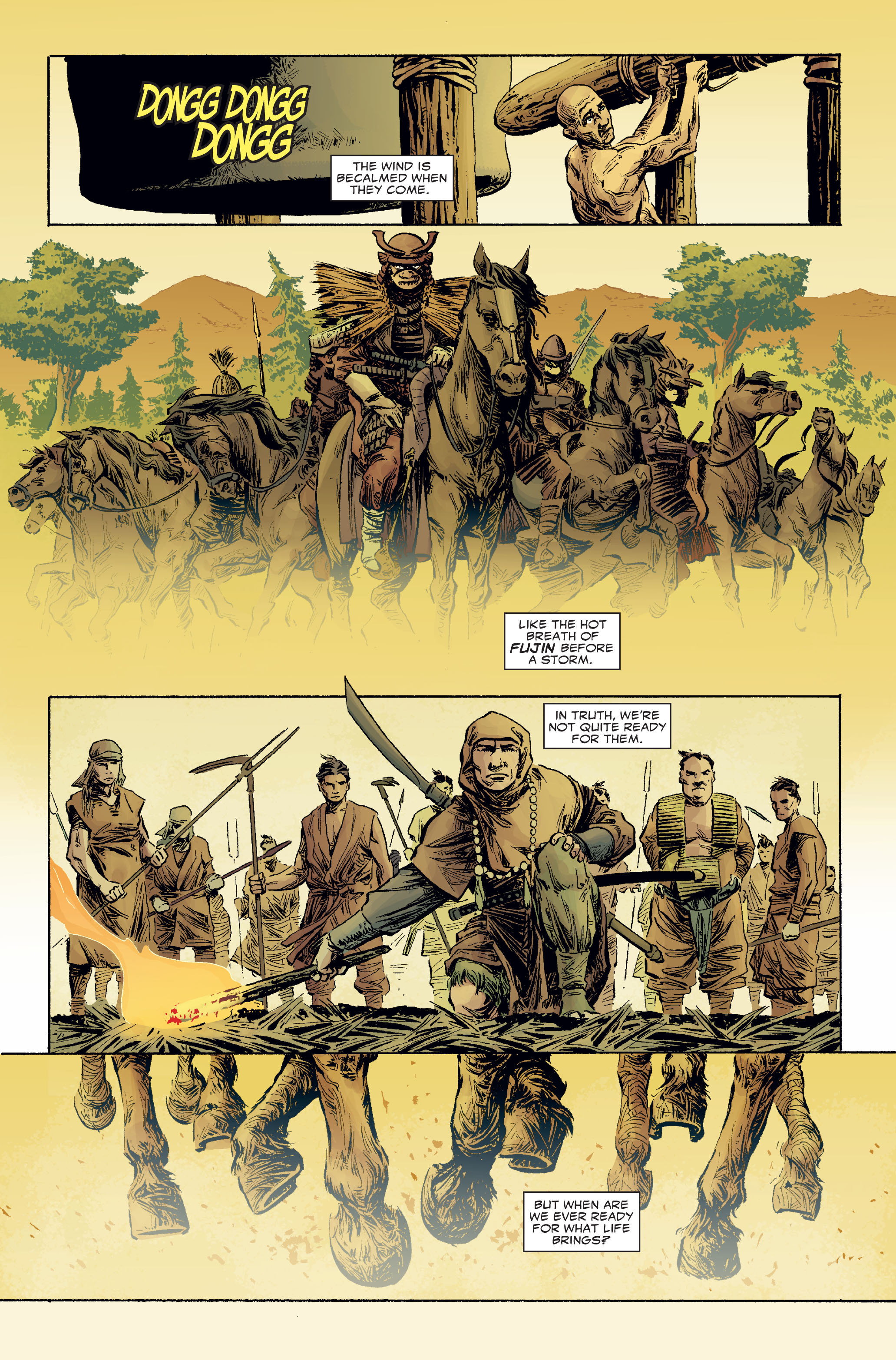 Read online 5 Ronin (2011) comic -  Issue #2 - 15