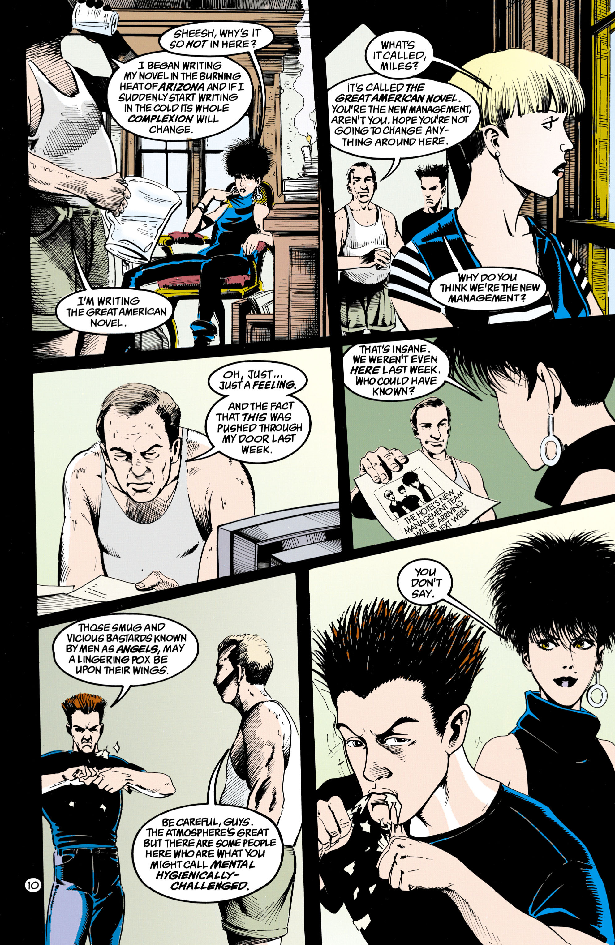 Read online Shade, the Changing Man comic -  Issue #36 - 11