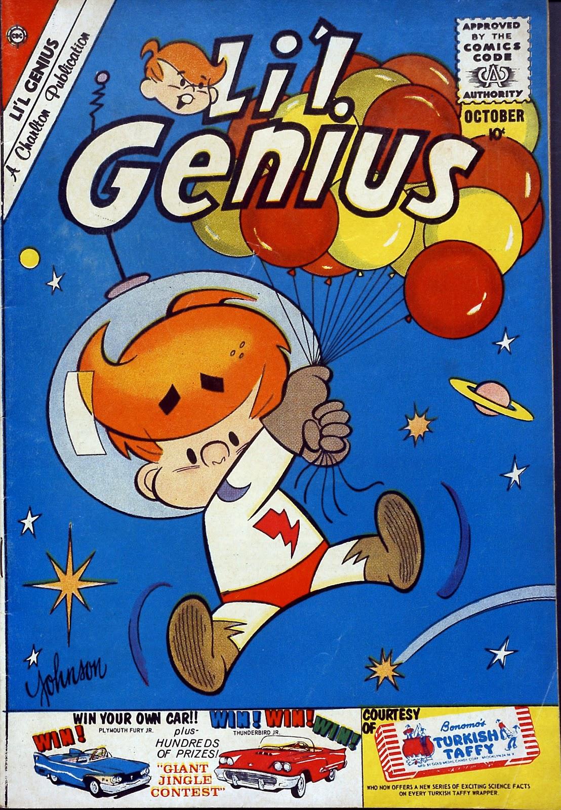 Lil Genius 29 Page 1