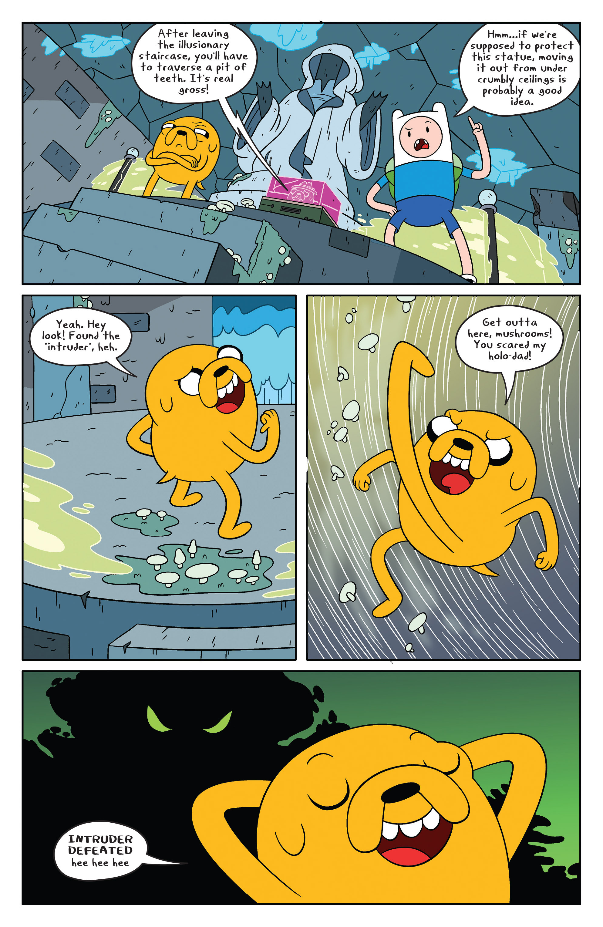 Read online Adventure Time comic -  Issue #46 - 6