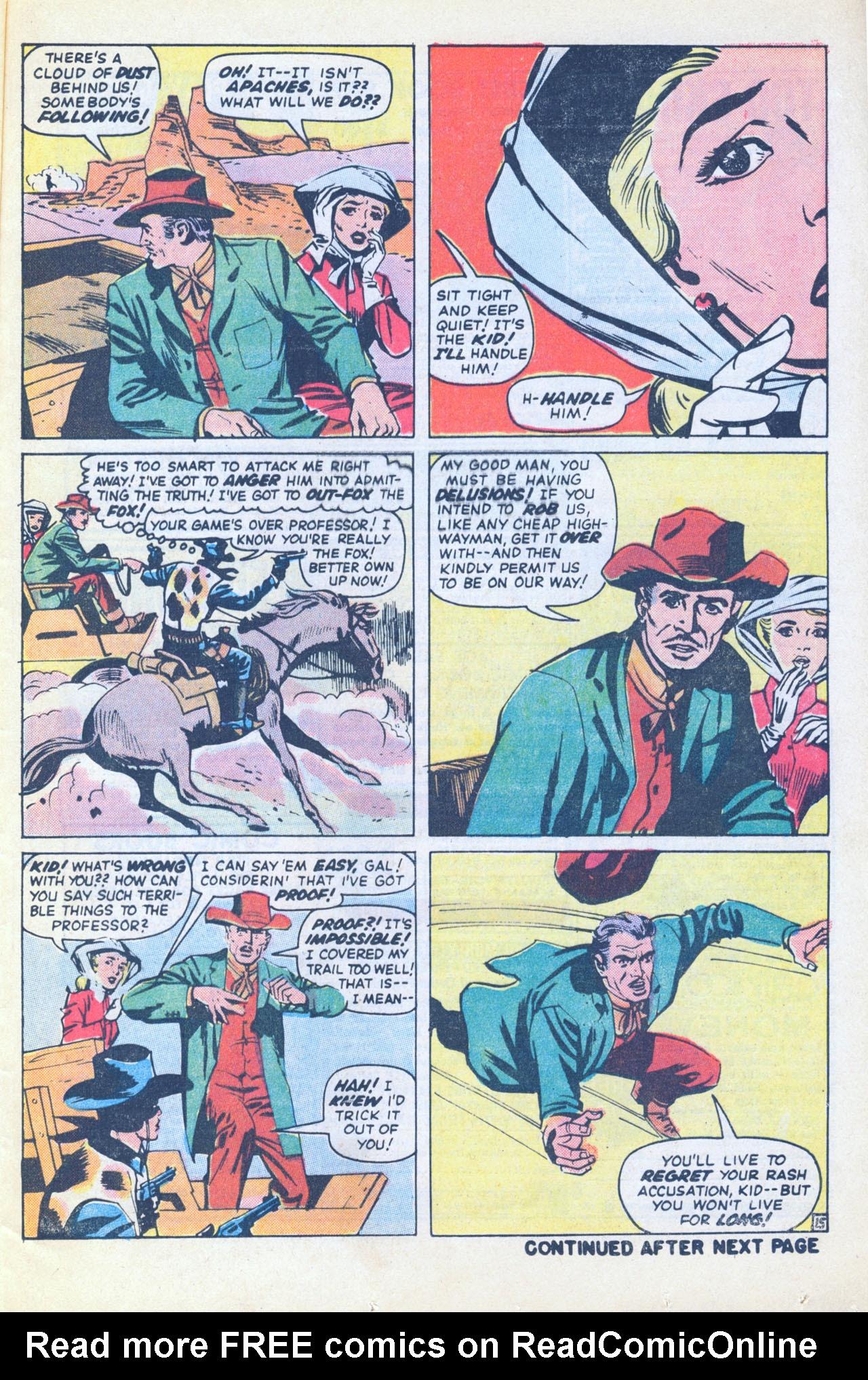 Read online Two-Gun Kid comic -  Issue #116 - 25
