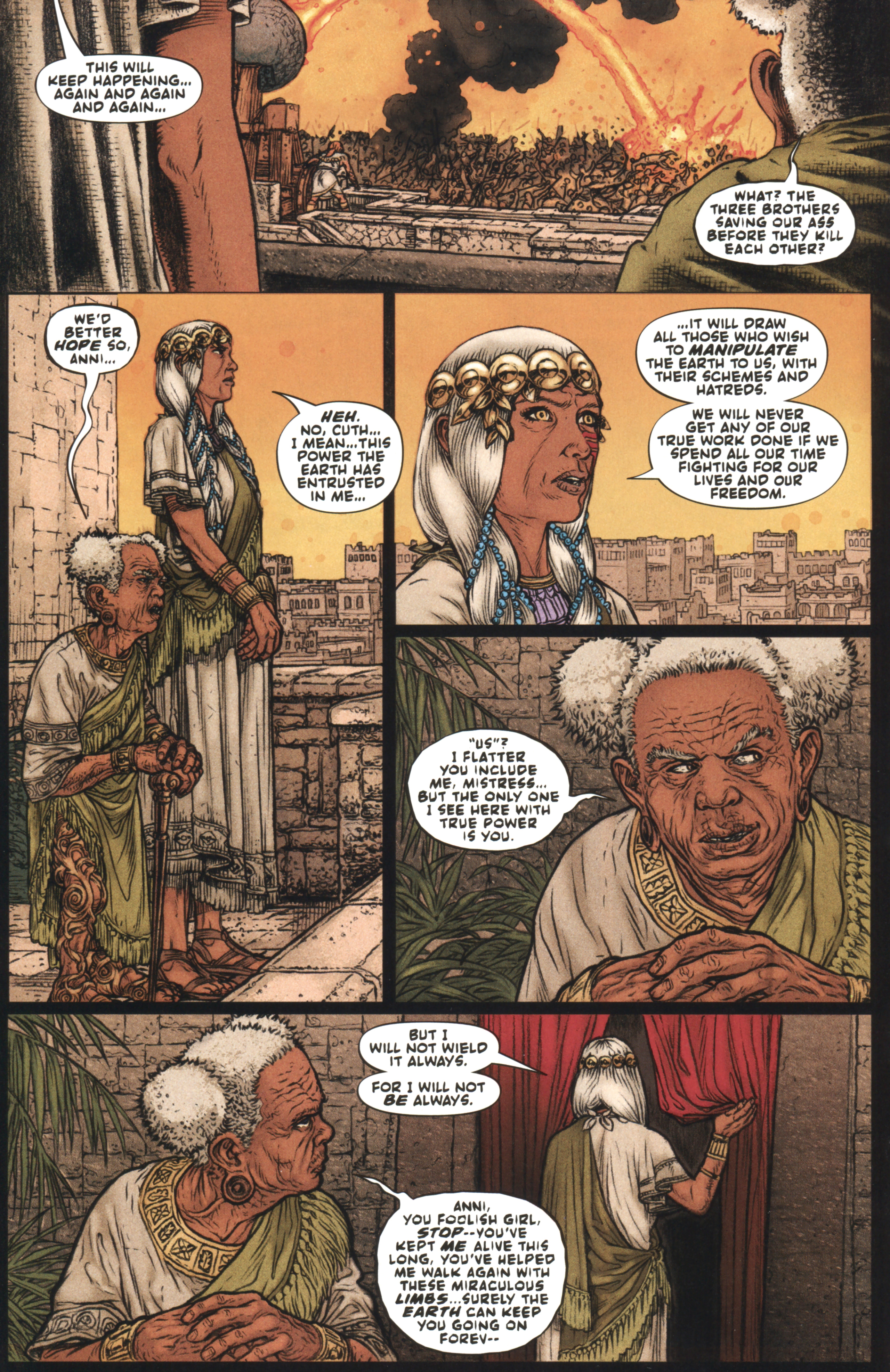 Read online Book of Death: Legends of the Geomancer comic -  Issue #4 - 9