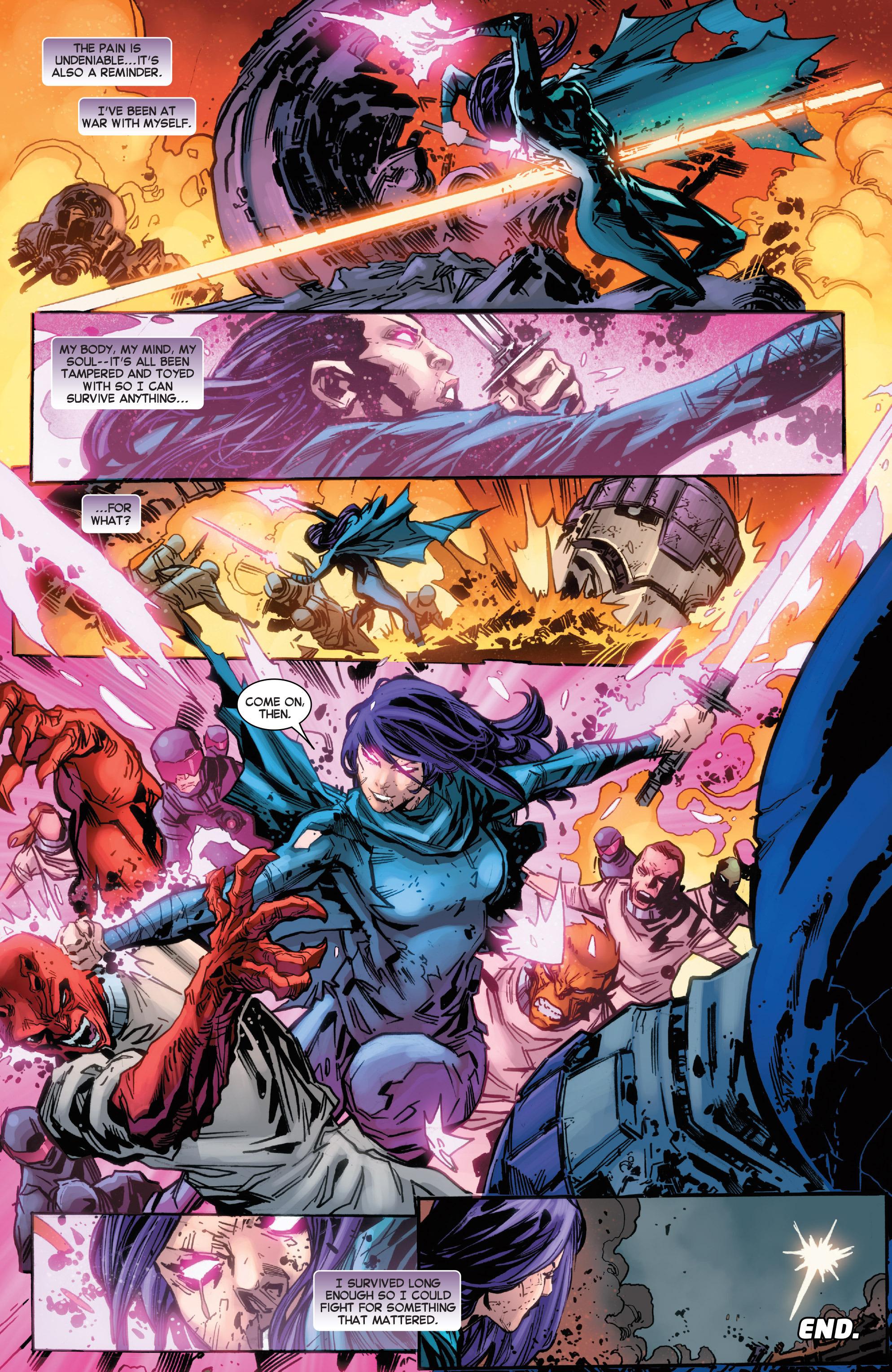 Read online Secret Wars Journal comic -  Issue #4 - 20