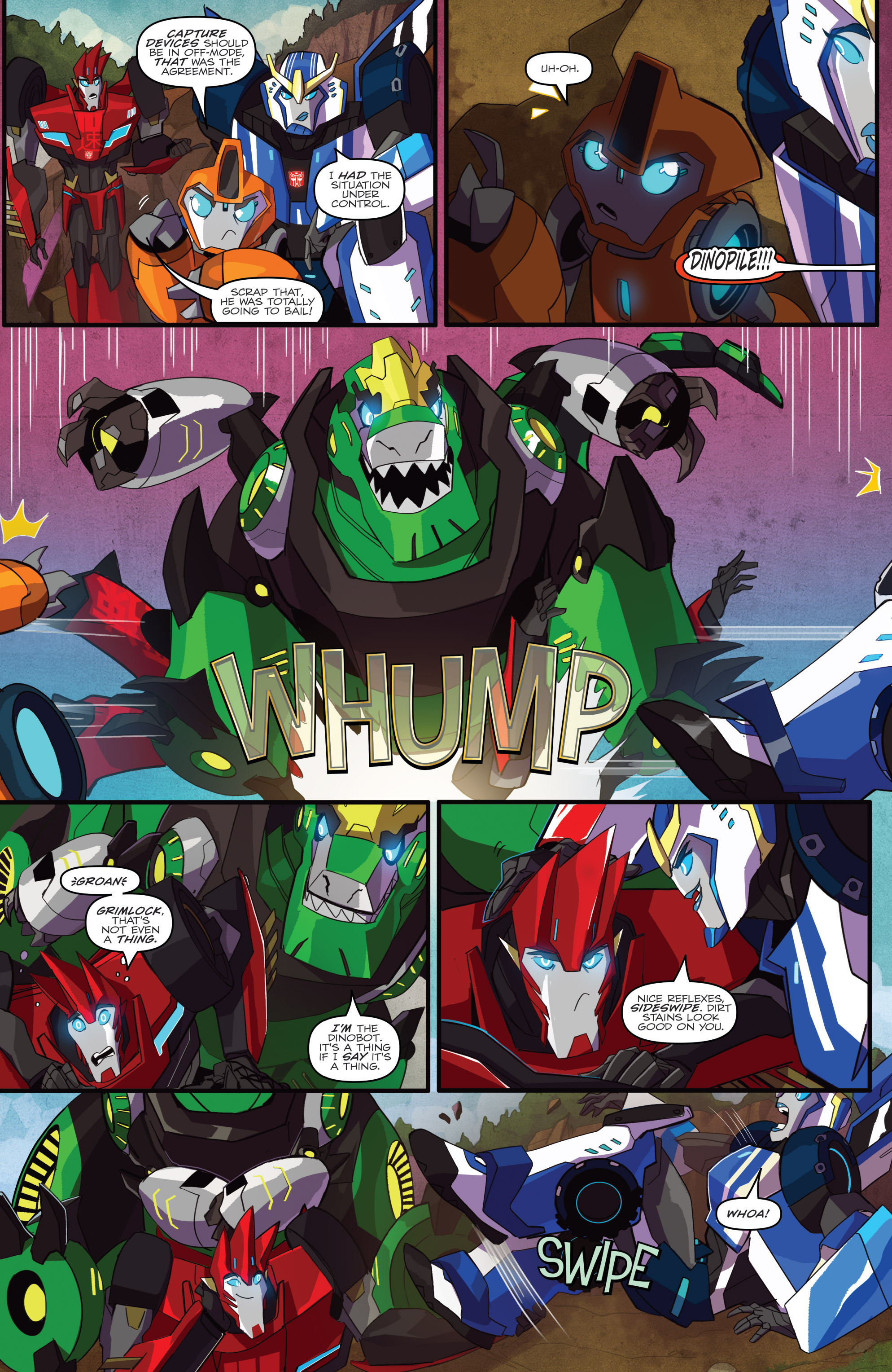 Read online Transformers: Robots In Disguise (2015) comic -  Issue #1 - 4
