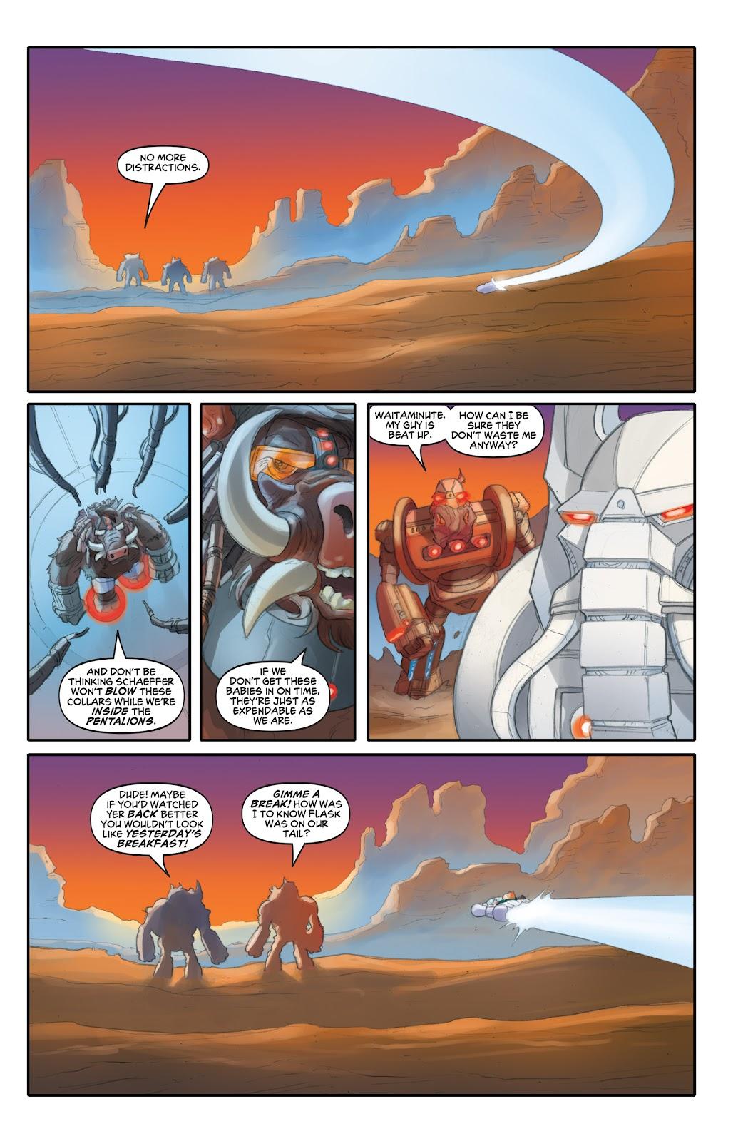 Read online Elephantmen 2261 Season Two: The Pentalion Job comic -  Issue # TPB - 82