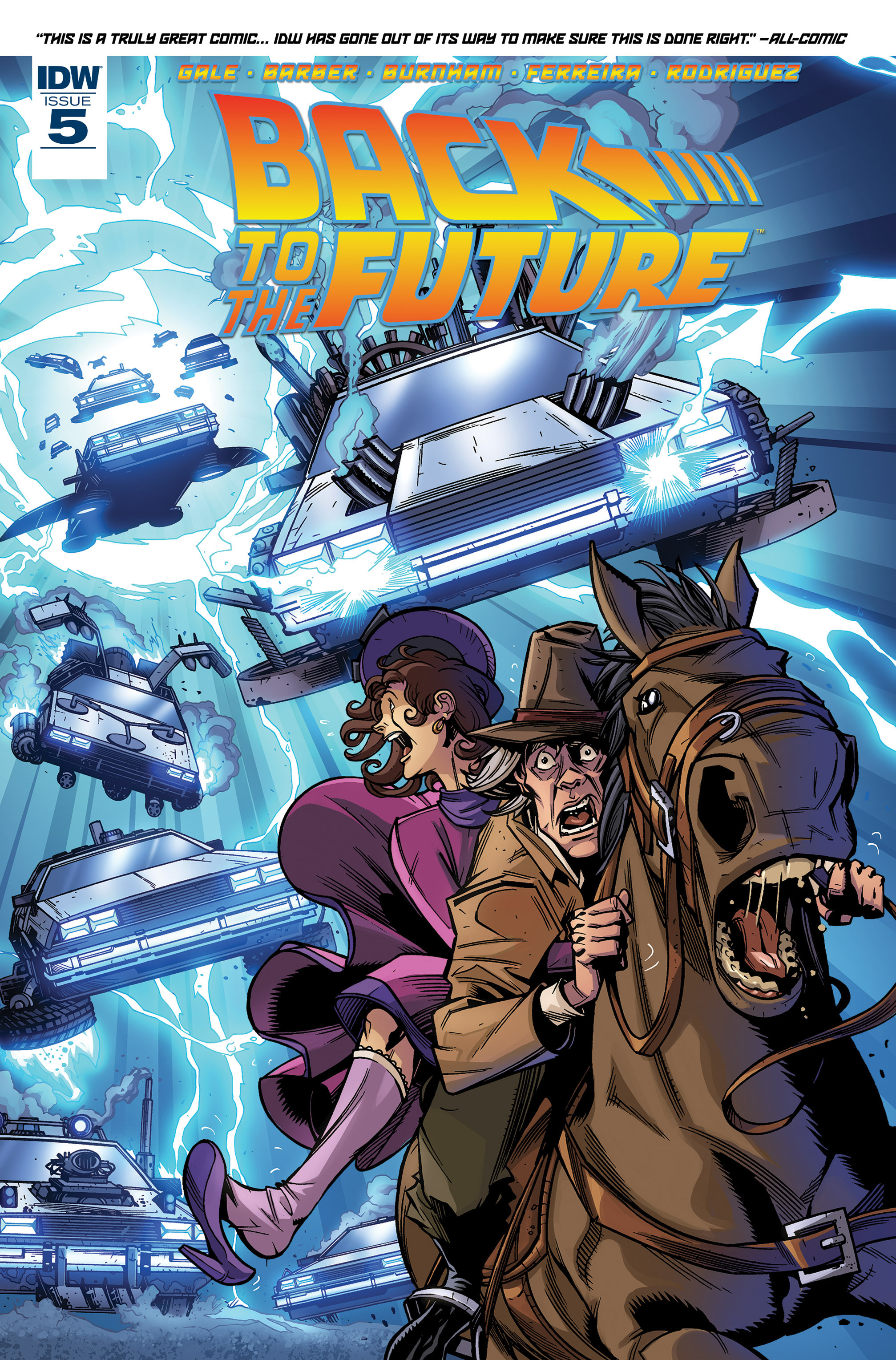 Back to the Future (2015) 5 Page 1