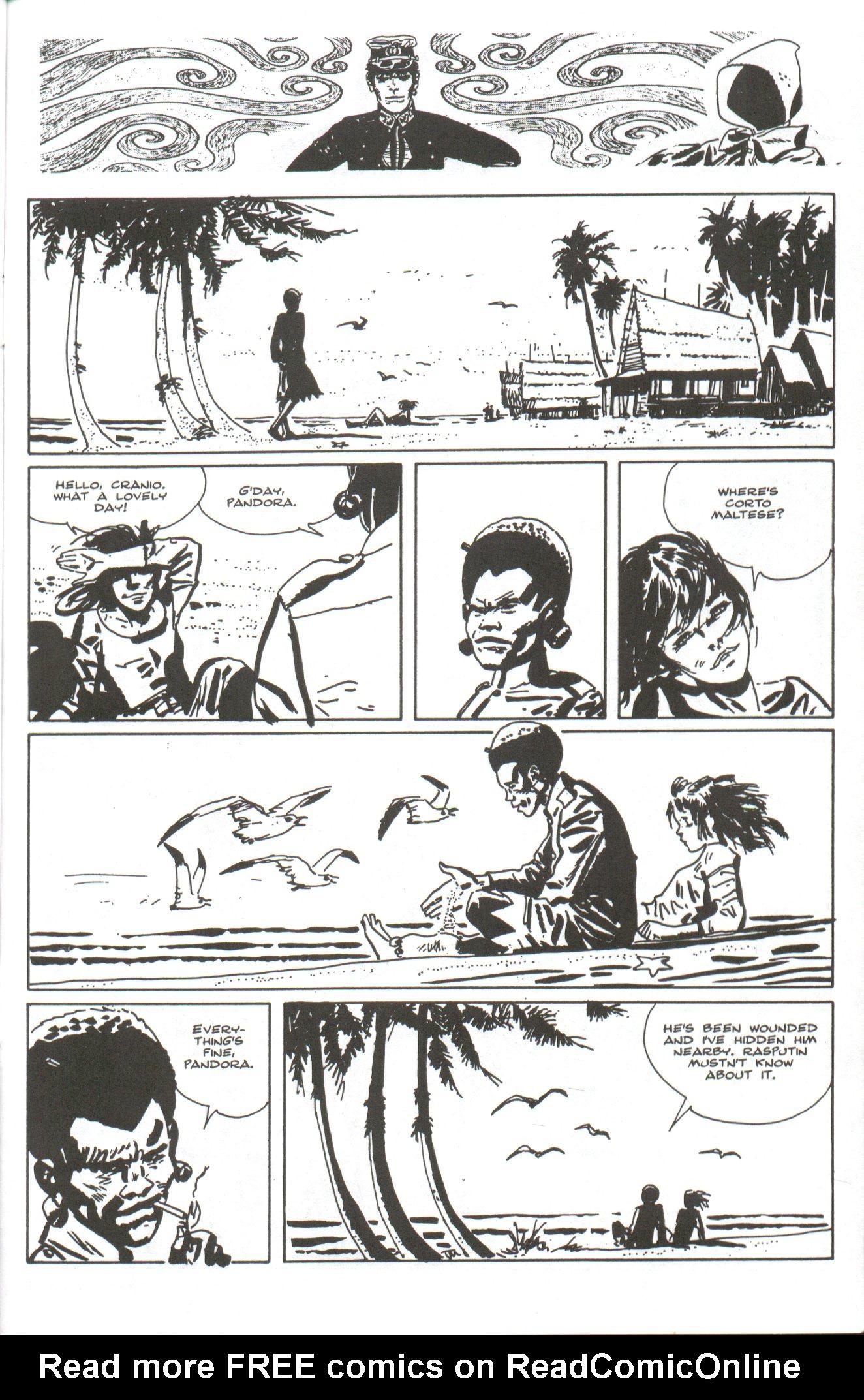 Read online Corto Maltese: Ballad of the Salt Sea comic -  Issue #4 - 25