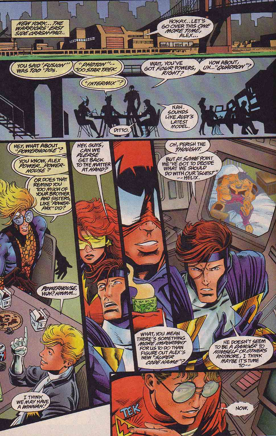 The New Warriors Issue #64 #68 - English 18