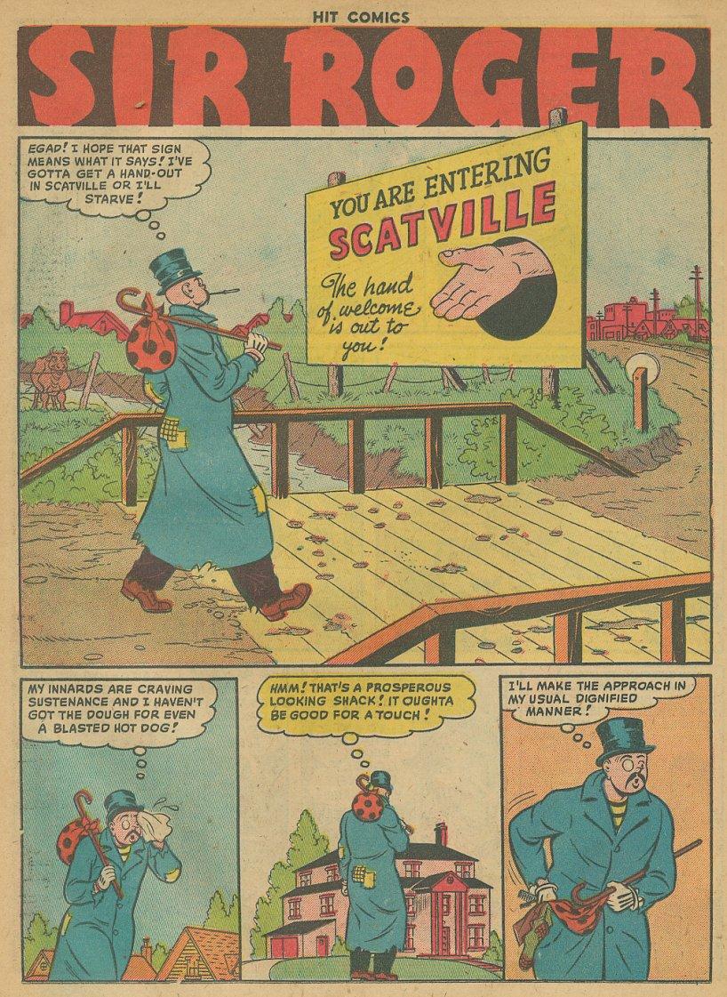 Read online Hit Comics comic -  Issue #61 - 16
